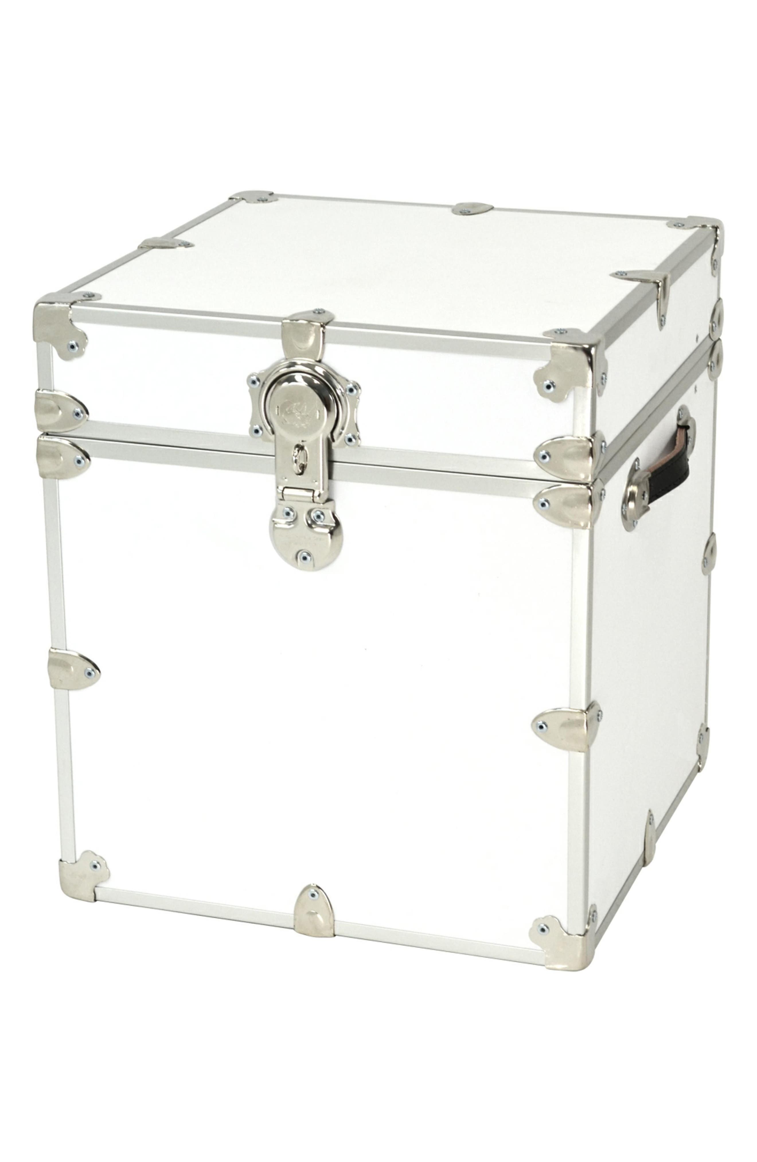 Rhino Trunk  Case Armor Cube Trunk Size One Size  White