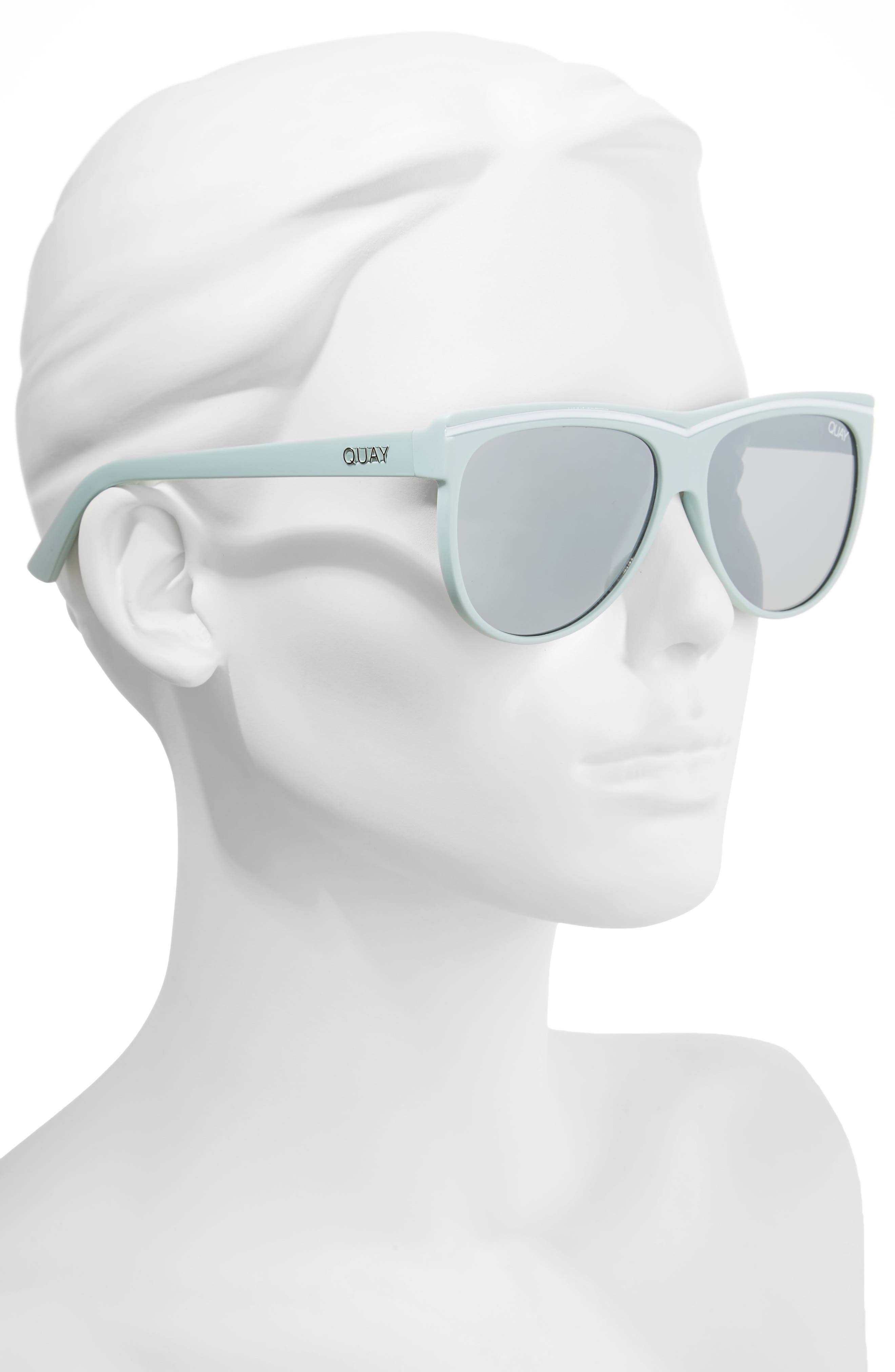 Hollywood Nights 62mm Sunglasses,                             Alternate thumbnail 5, color,