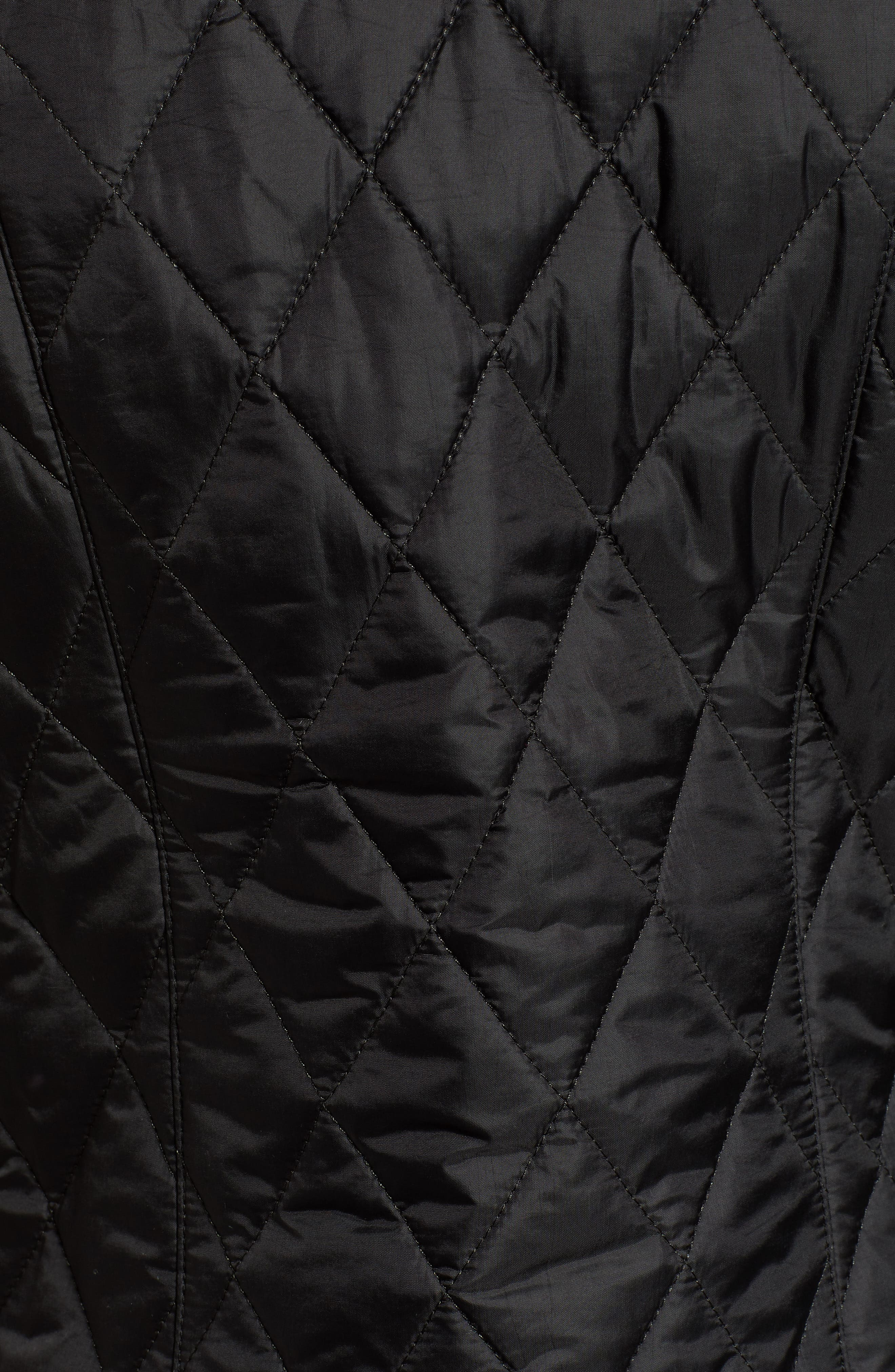 Betty Quilted Vest,                             Alternate thumbnail 7, color,                             001