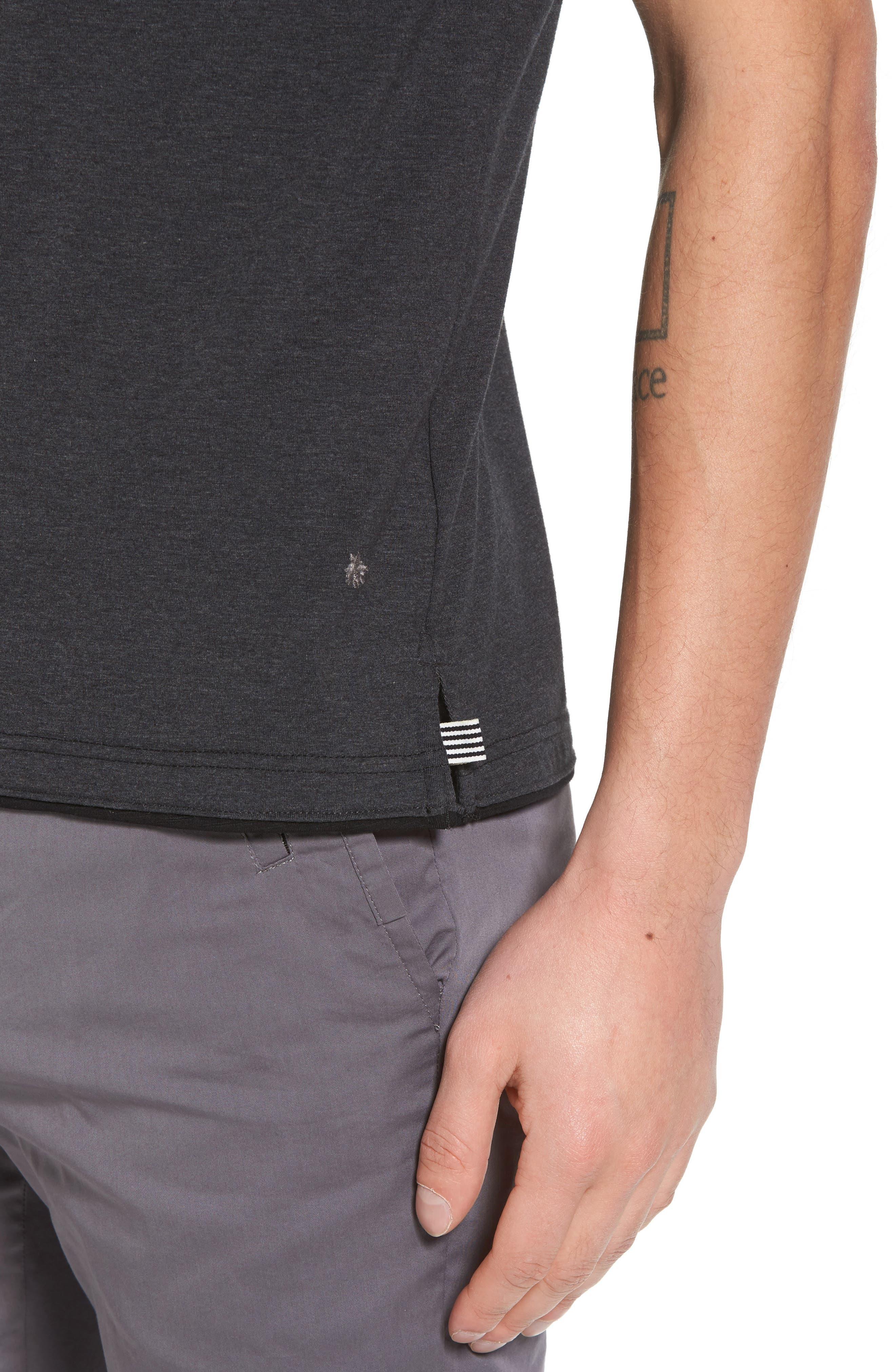 Cloud Soft T-Shirt,                             Alternate thumbnail 4, color,                             020