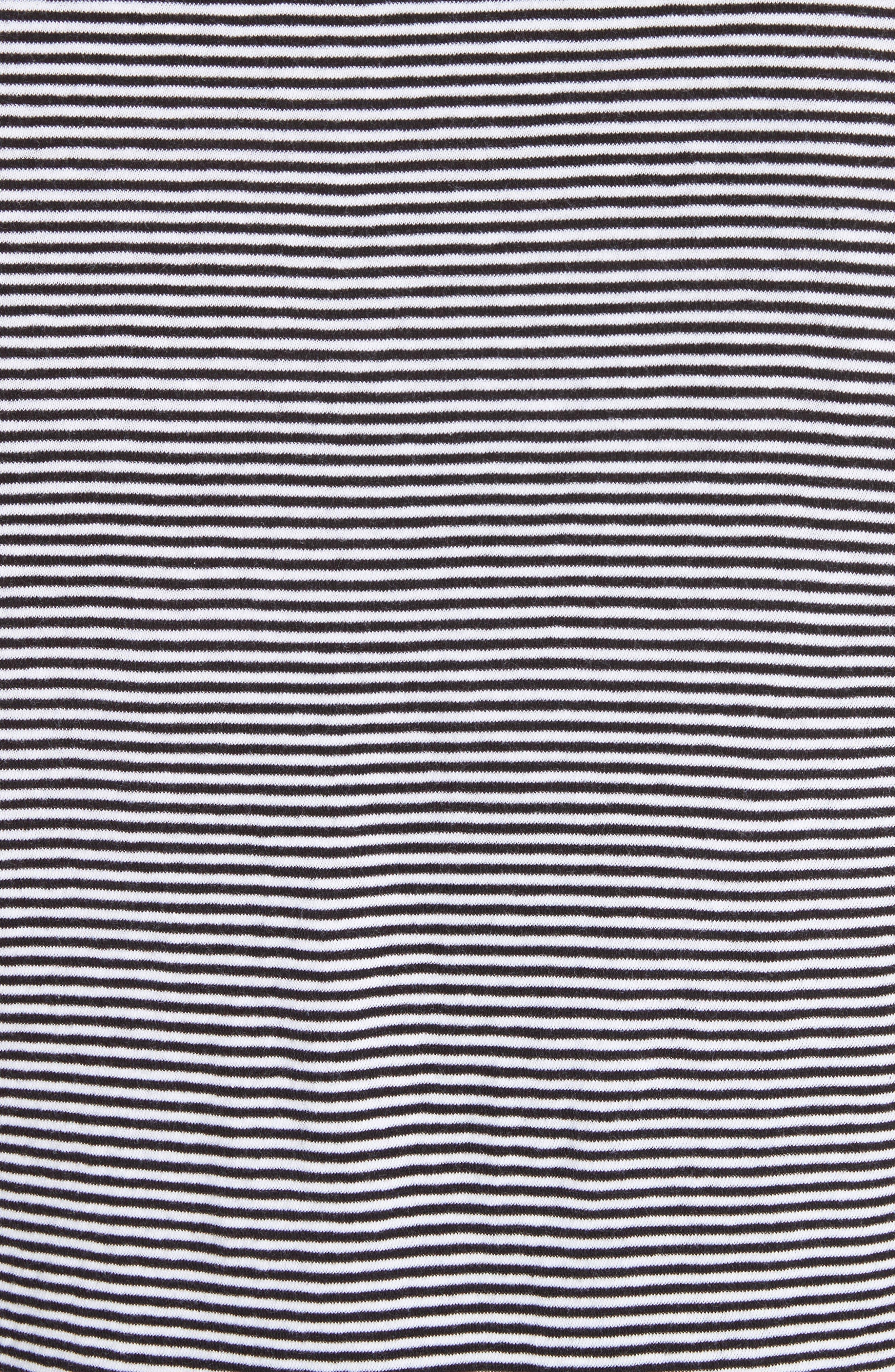 Tayford Stripe Long Sleeve T-Shirt,                             Alternate thumbnail 5, color,                             100