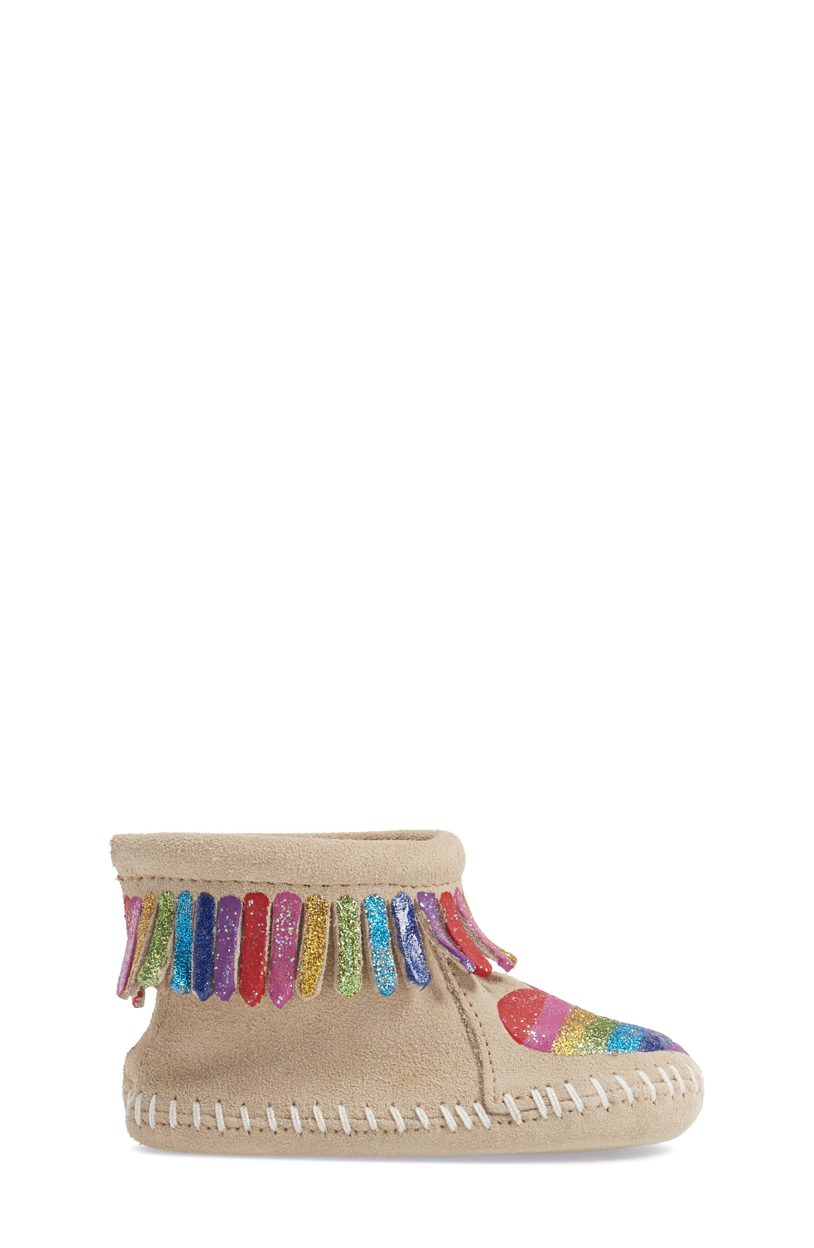 x Free Range Mama Love One Another Bootie,                             Alternate thumbnail 3, color,                             STONE