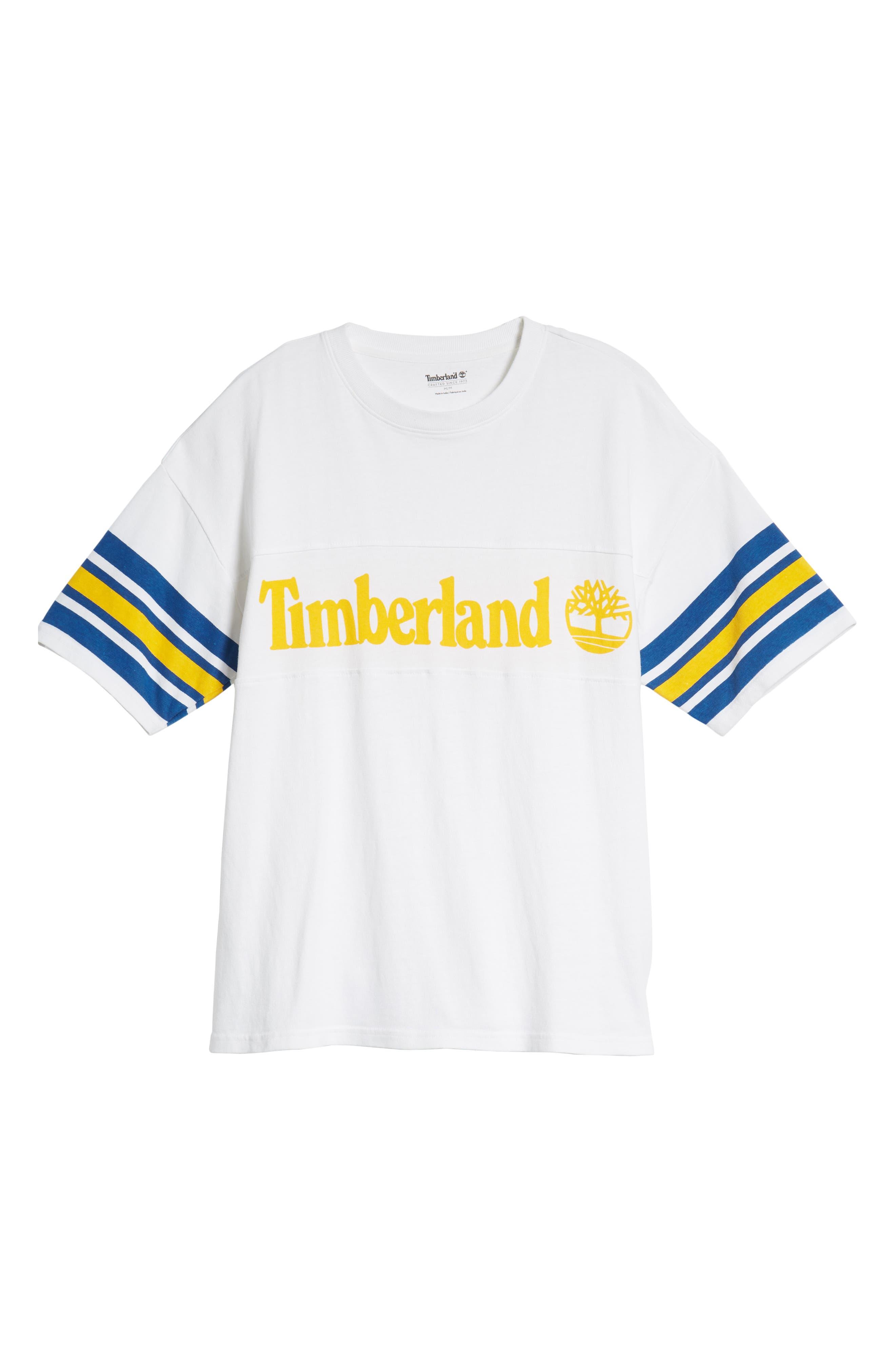 Oversize '90s Logo T-Shirt,                             Alternate thumbnail 6, color,                             WHITE