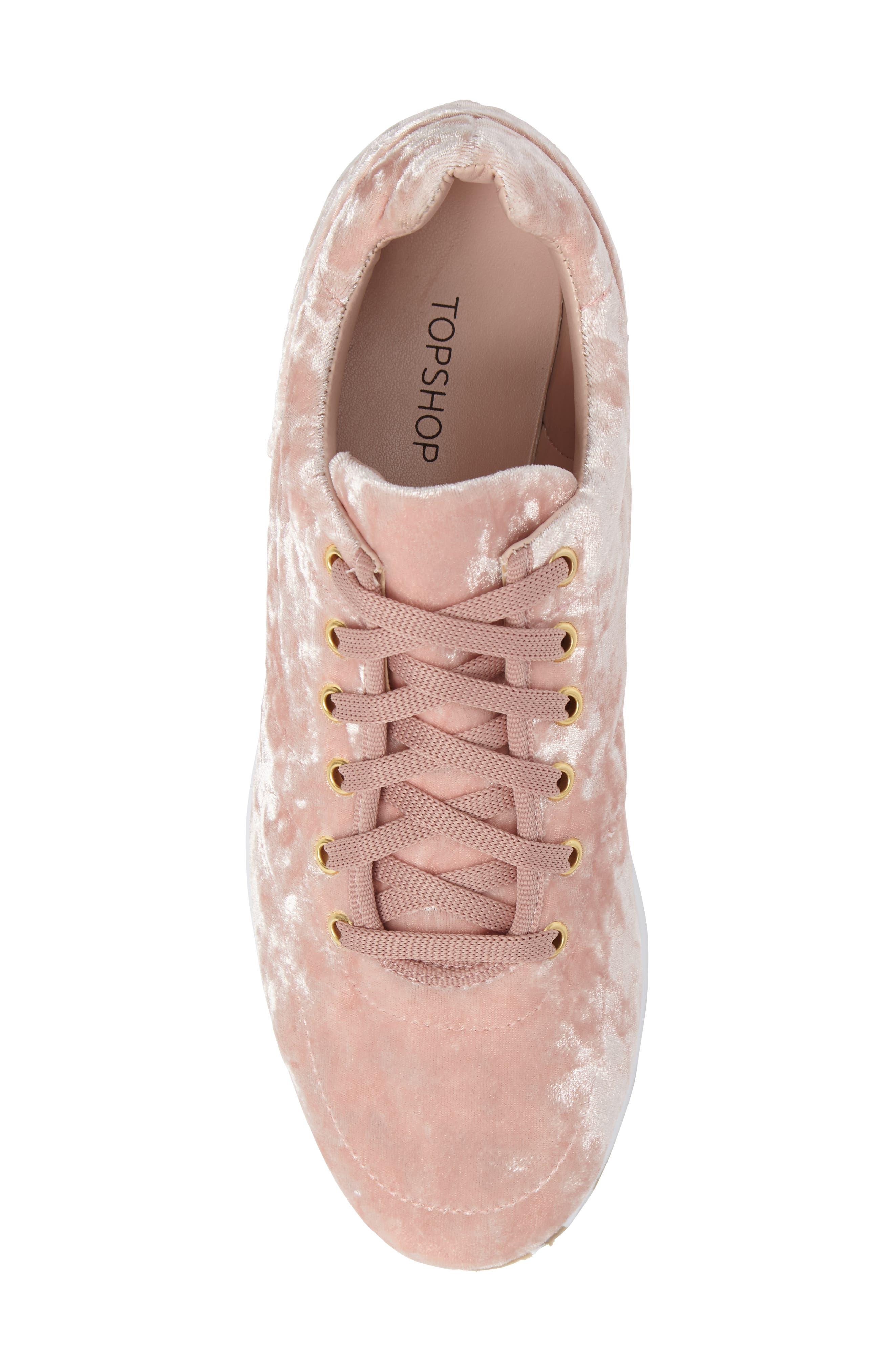 Croatia Velvet Sneaker,                             Alternate thumbnail 5, color,                             650