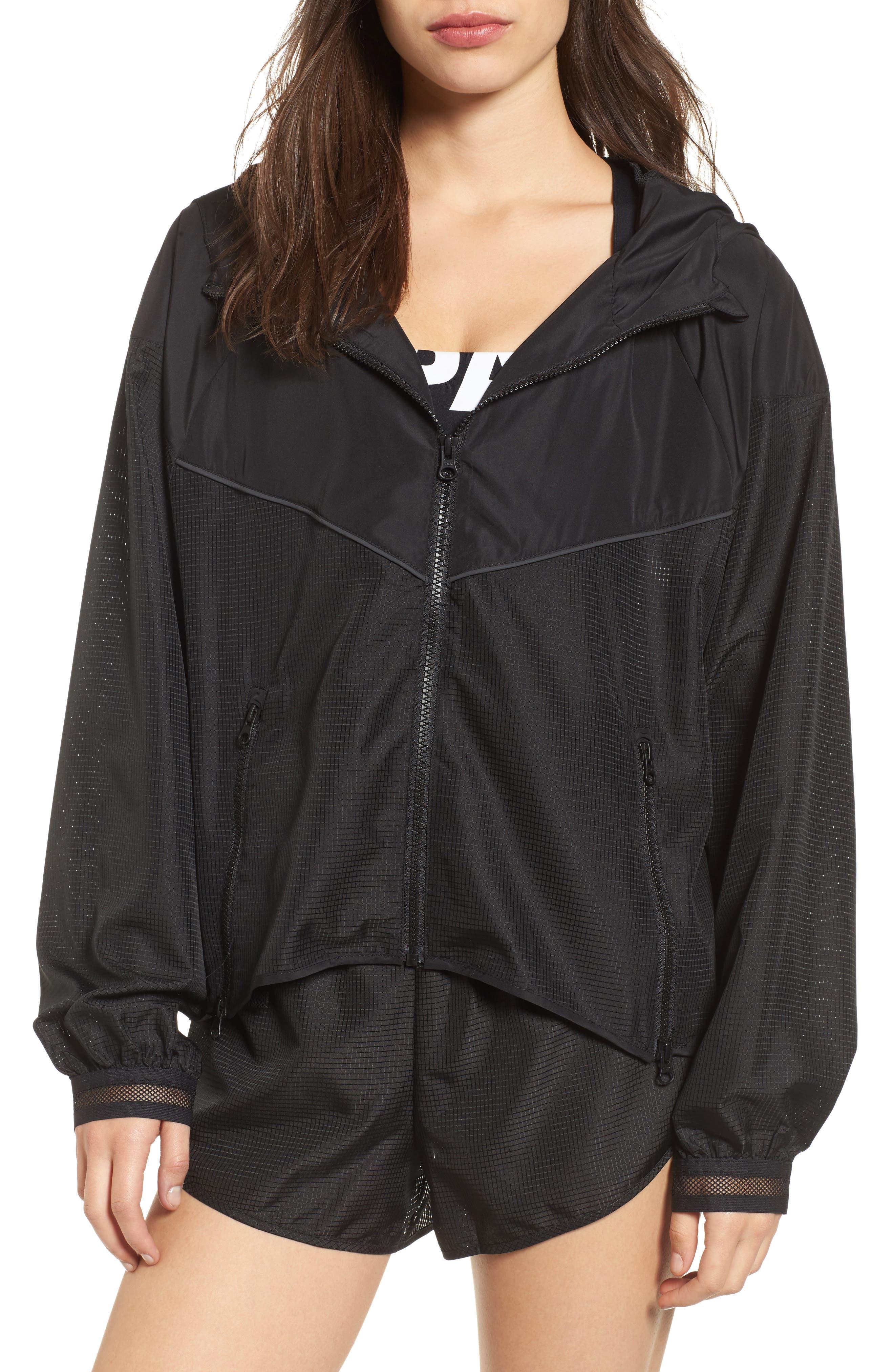 Logo Hood Jacket,                         Main,                         color, 001
