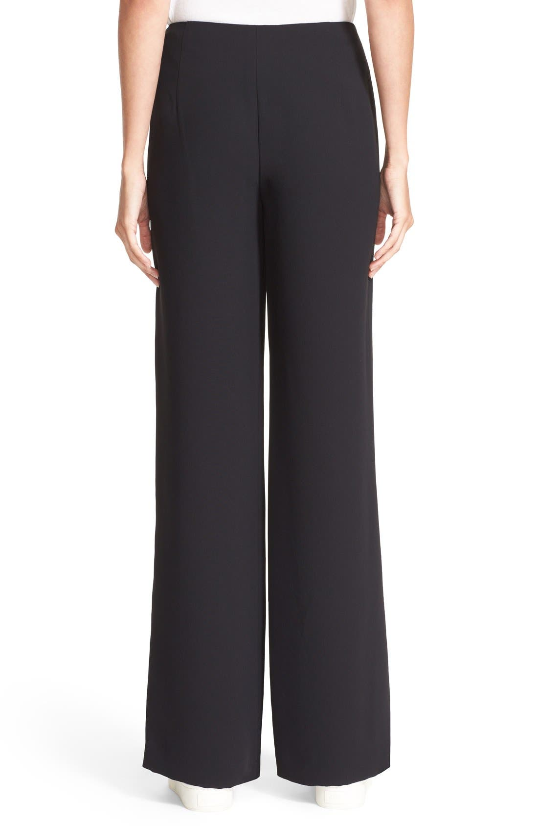 Side Zip Trousers,                             Alternate thumbnail 3, color,                             001