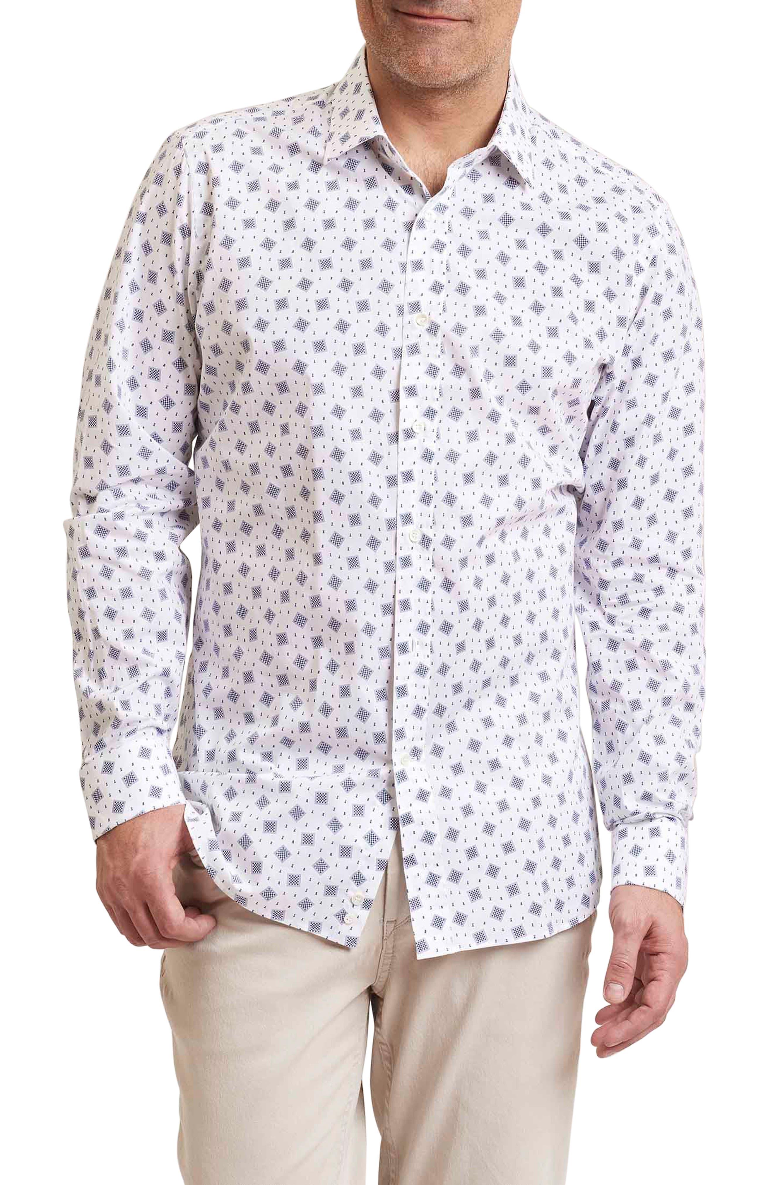 Board Regular Fit Print Sport Shirt,                             Main thumbnail 1, color,                             100