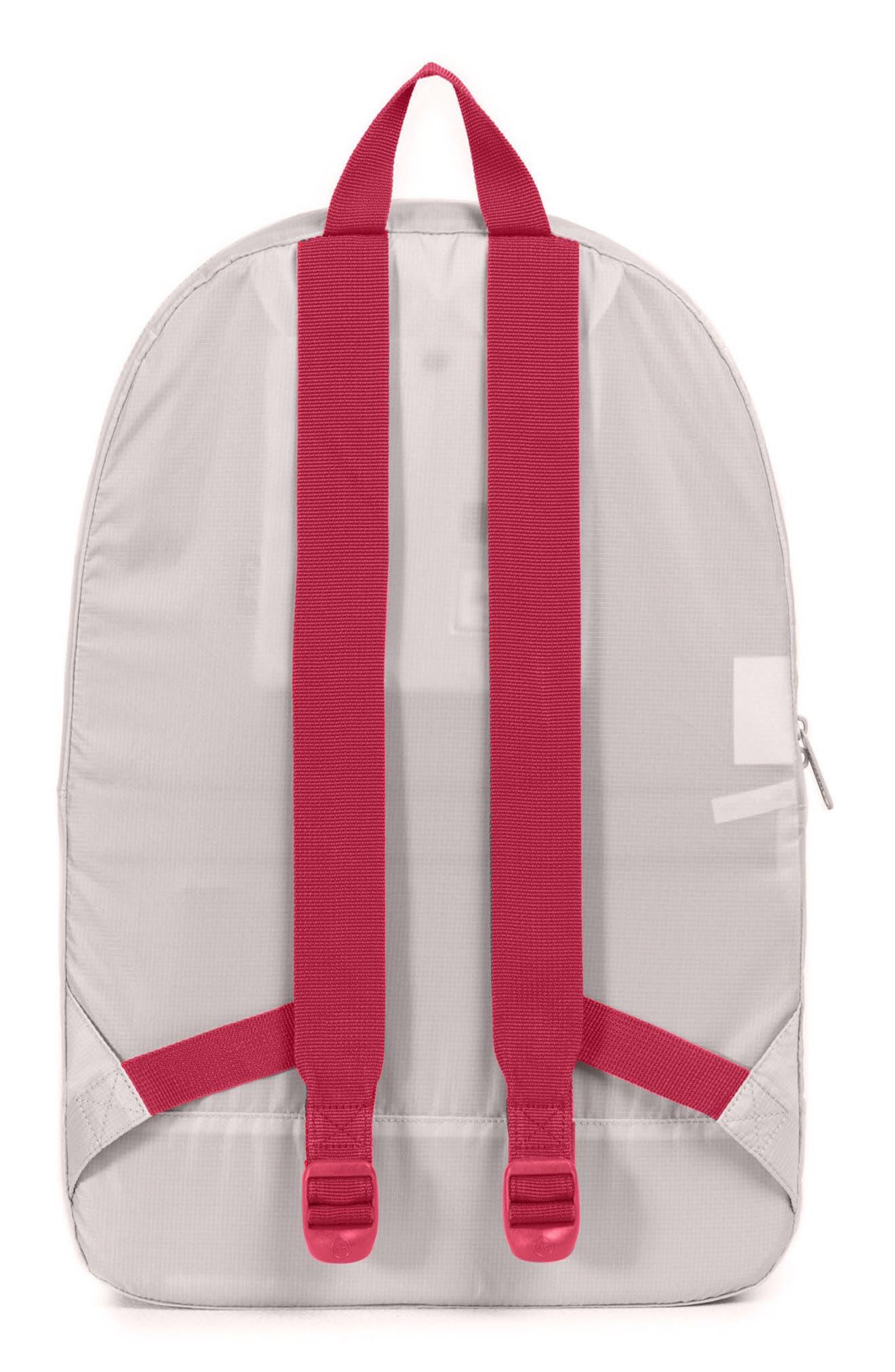 Packable - MLB National League Backpack,                             Alternate thumbnail 2, color,                             ST LOUIS CARDINALS