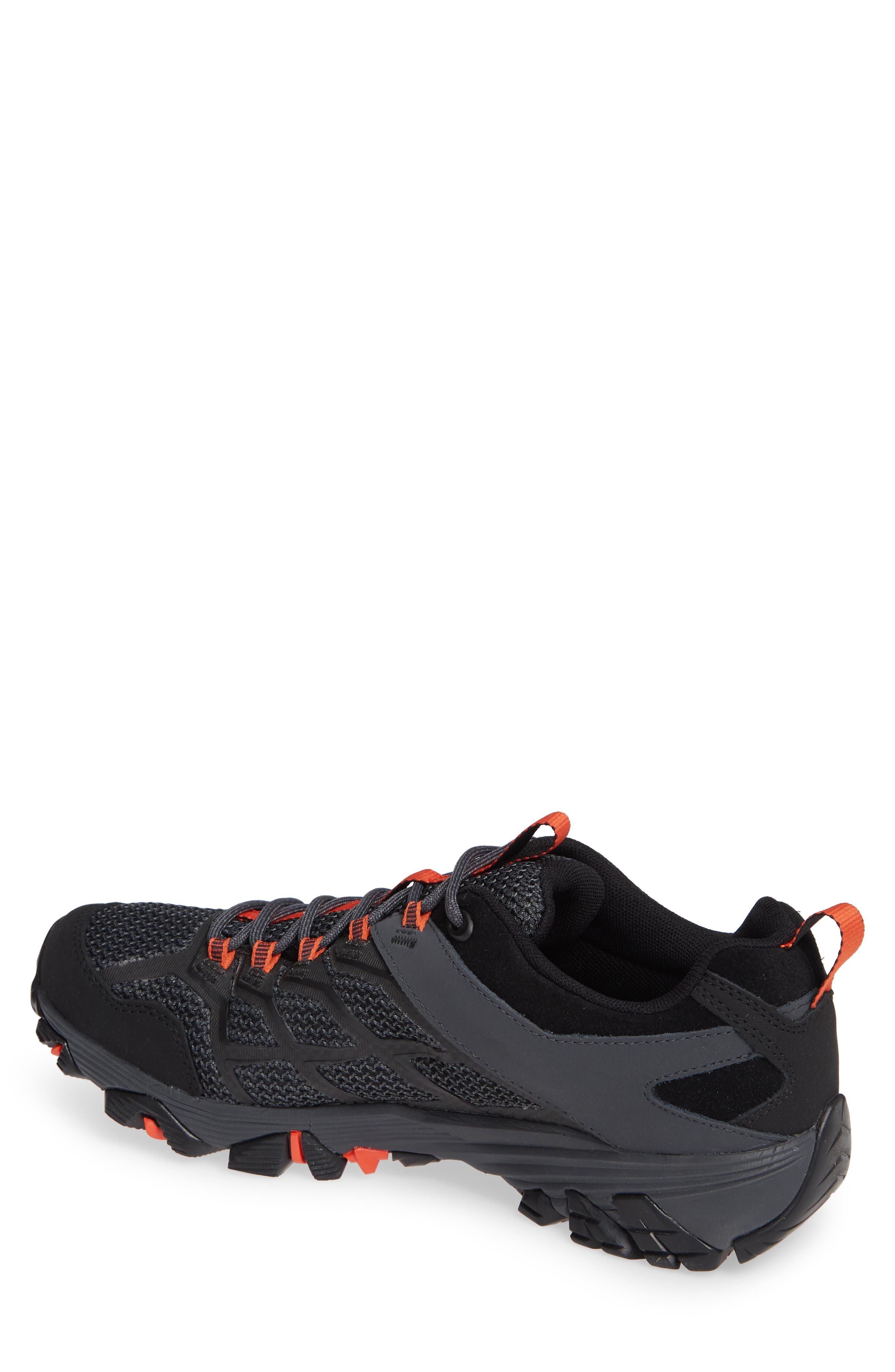 Moab FST 2 Waterproof Hiking Shoe,                             Alternate thumbnail 2, color,                             001