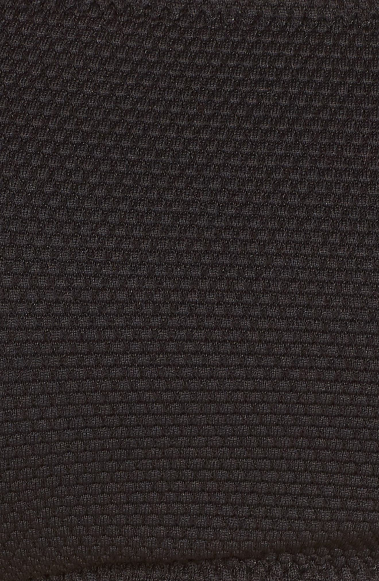 Convertible Bikini Top,                             Alternate thumbnail 6, color,                             BLACK
