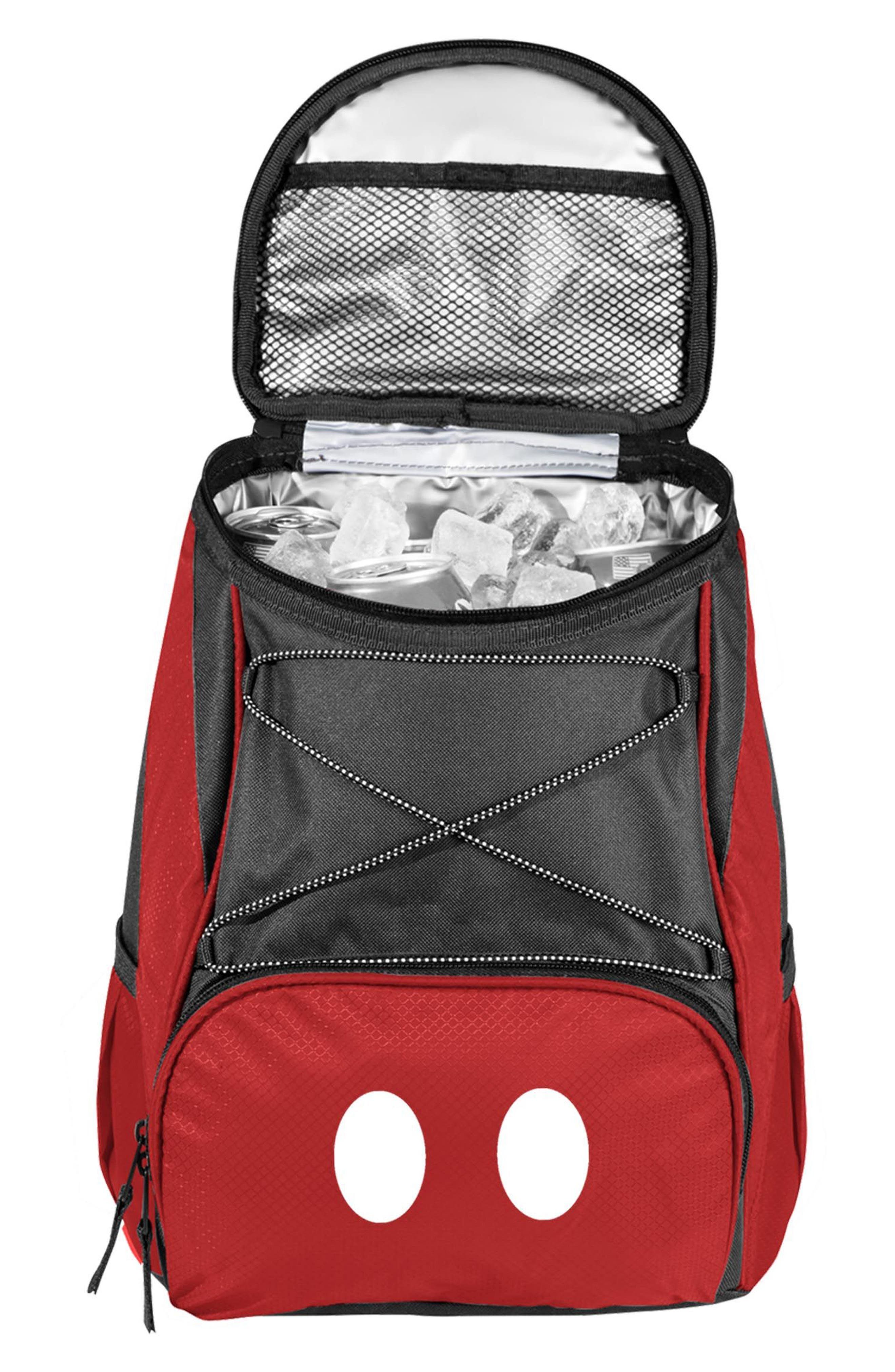PTX - Disney Water Resistant Backpack Cooler,                             Alternate thumbnail 2, color,                             RED