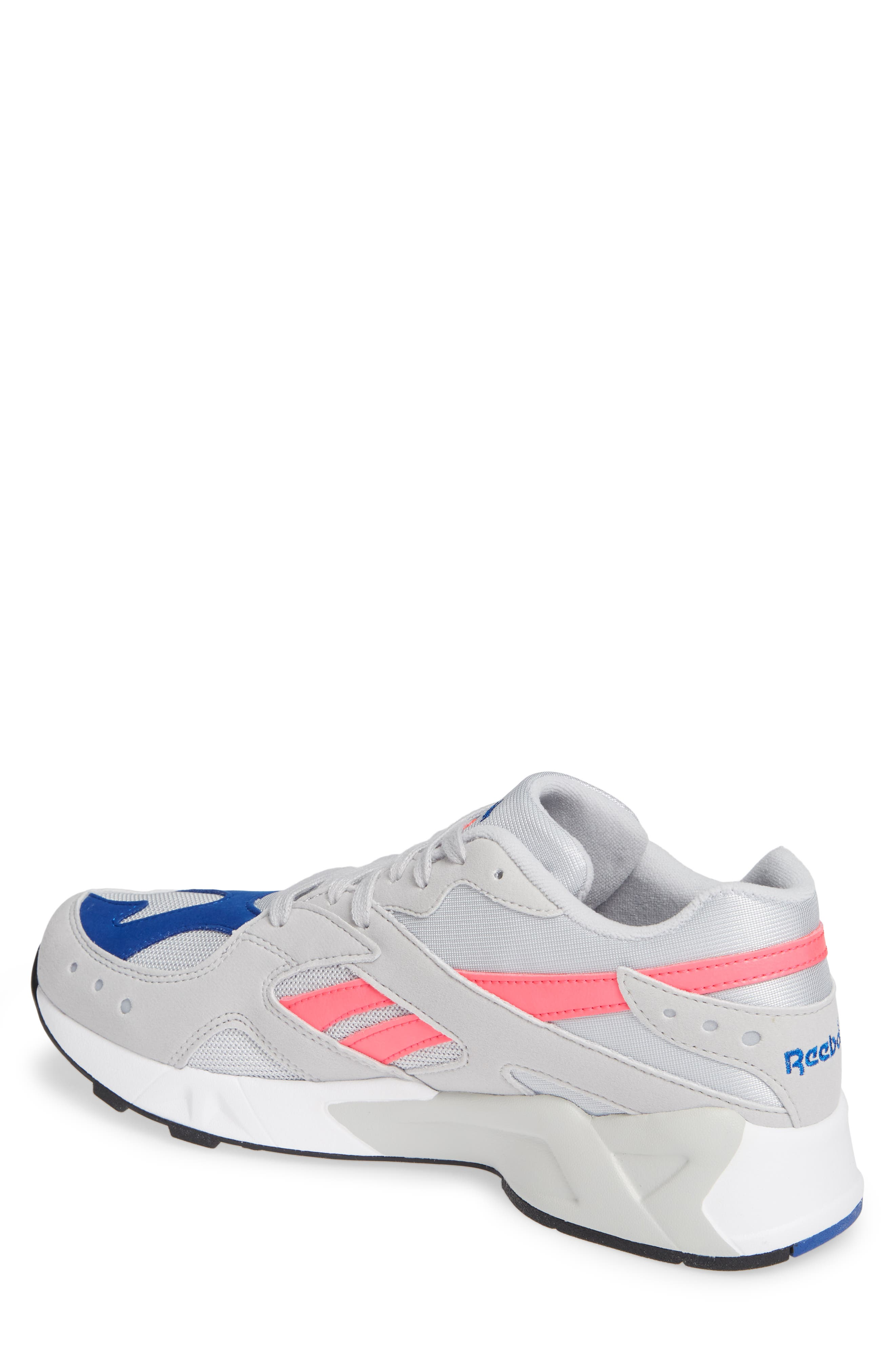 Aztrek Sneaker,                             Alternate thumbnail 2, color,                             GREY/ PINK/ COLLEGIATE ROYAL