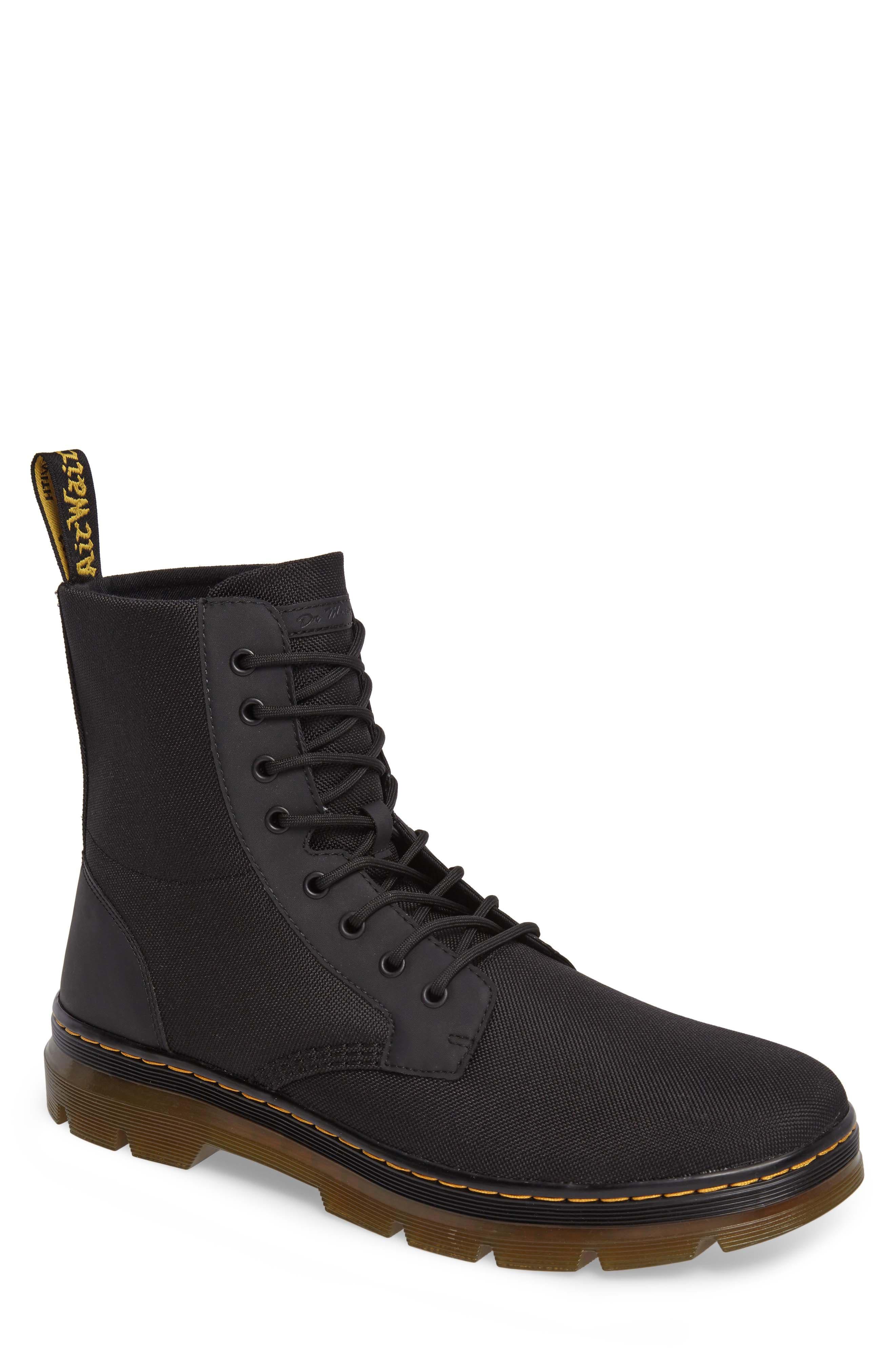 'Combs' Plain Toe Boot,                             Main thumbnail 1, color,                             001