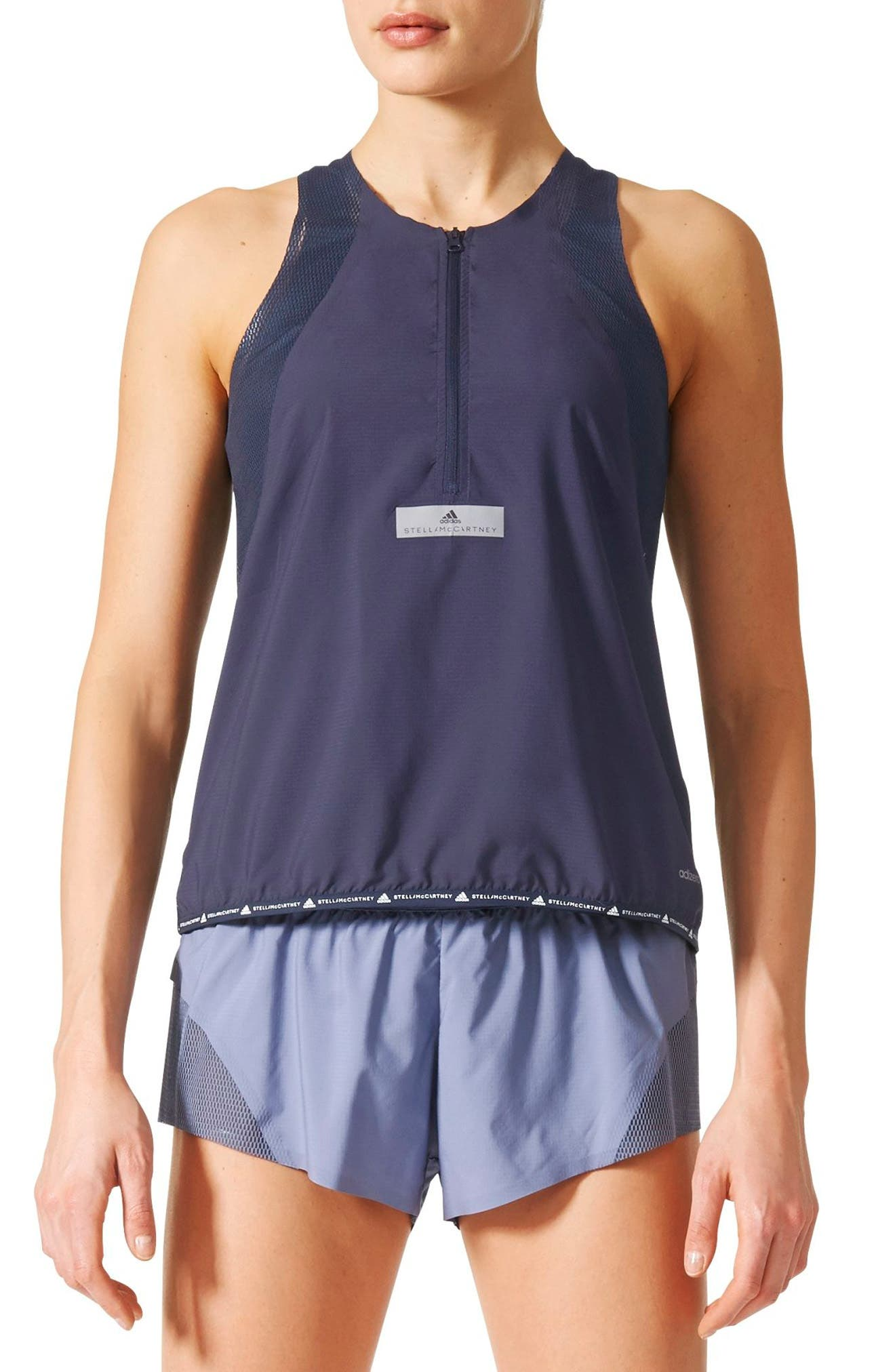Adizero Running Tank,                             Main thumbnail 1, color,                             400