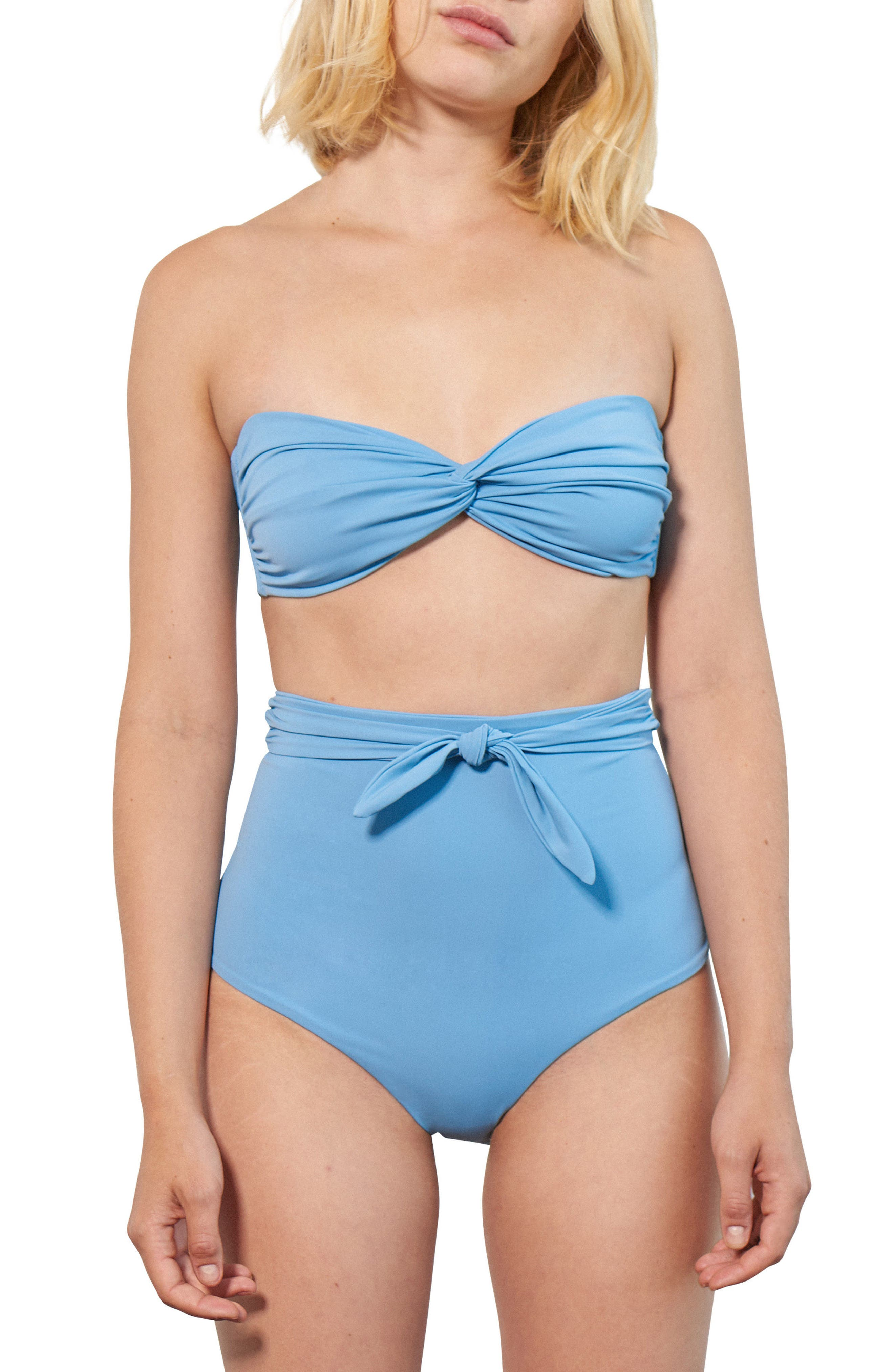 Chey Twist Bikini Top,                             Alternate thumbnail 3, color,                             427