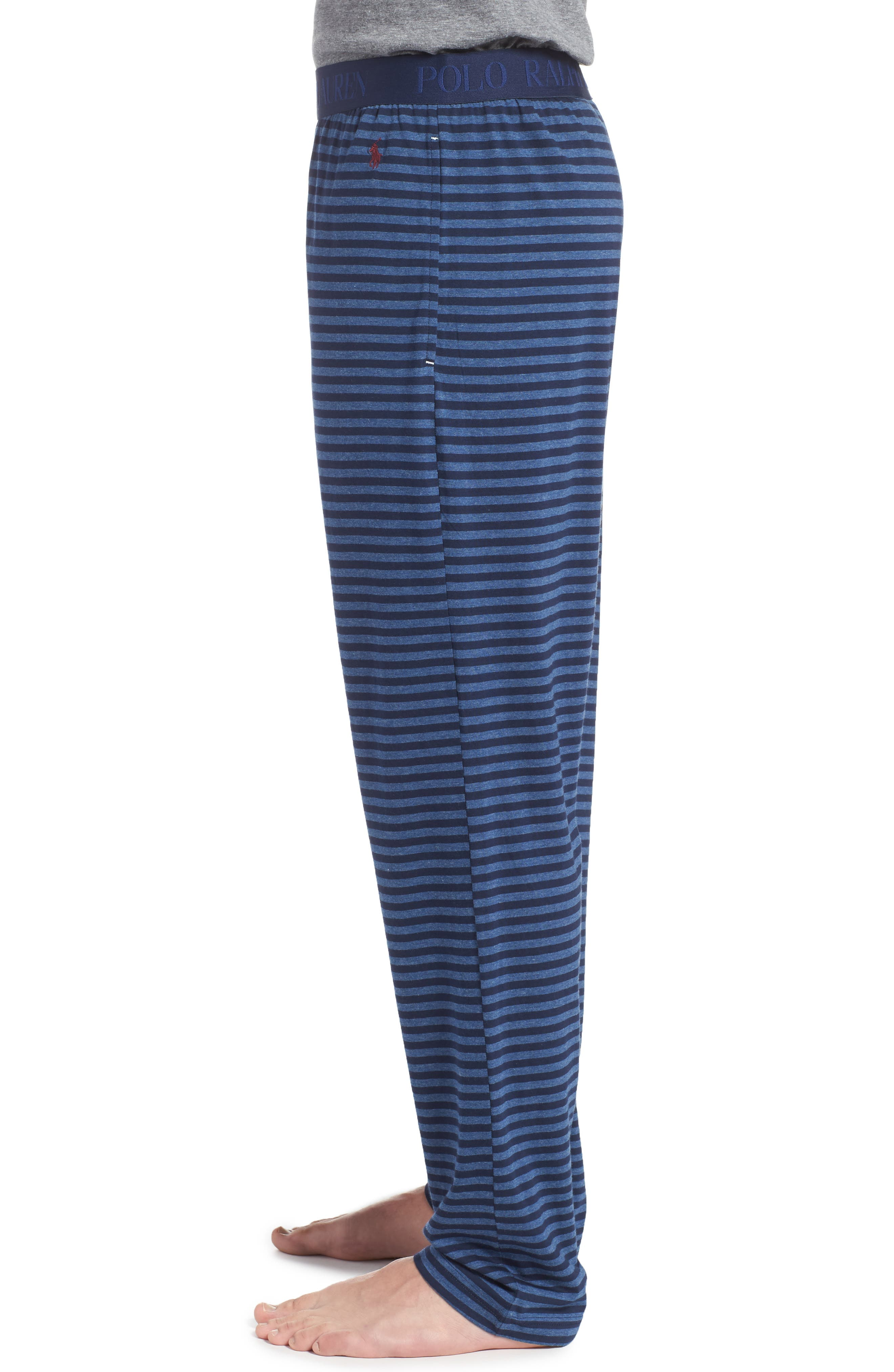 Cotton & Modal Lounge Pants,                             Alternate thumbnail 8, color,
