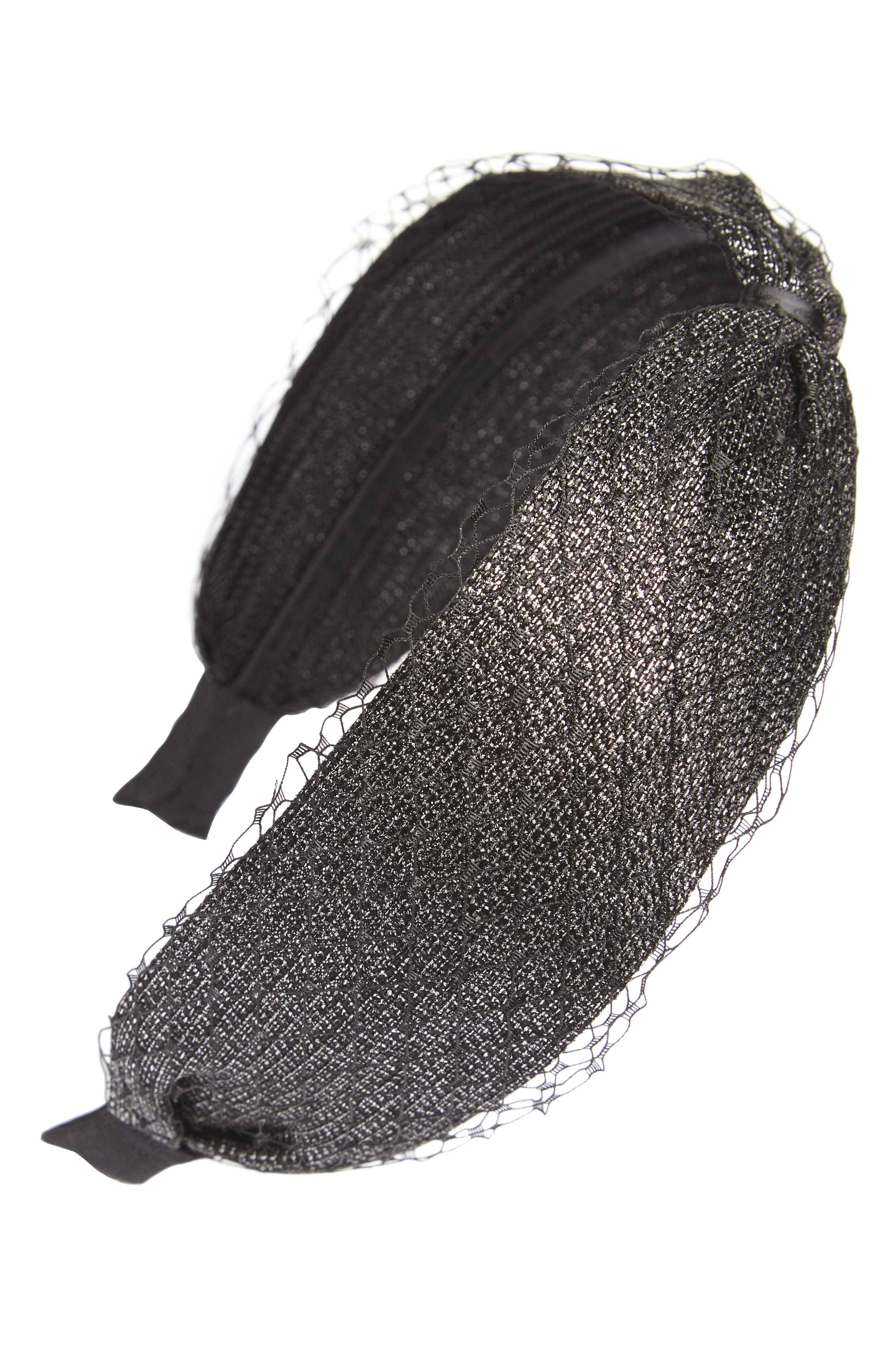 Mesh Headband,                         Main,                         color,
