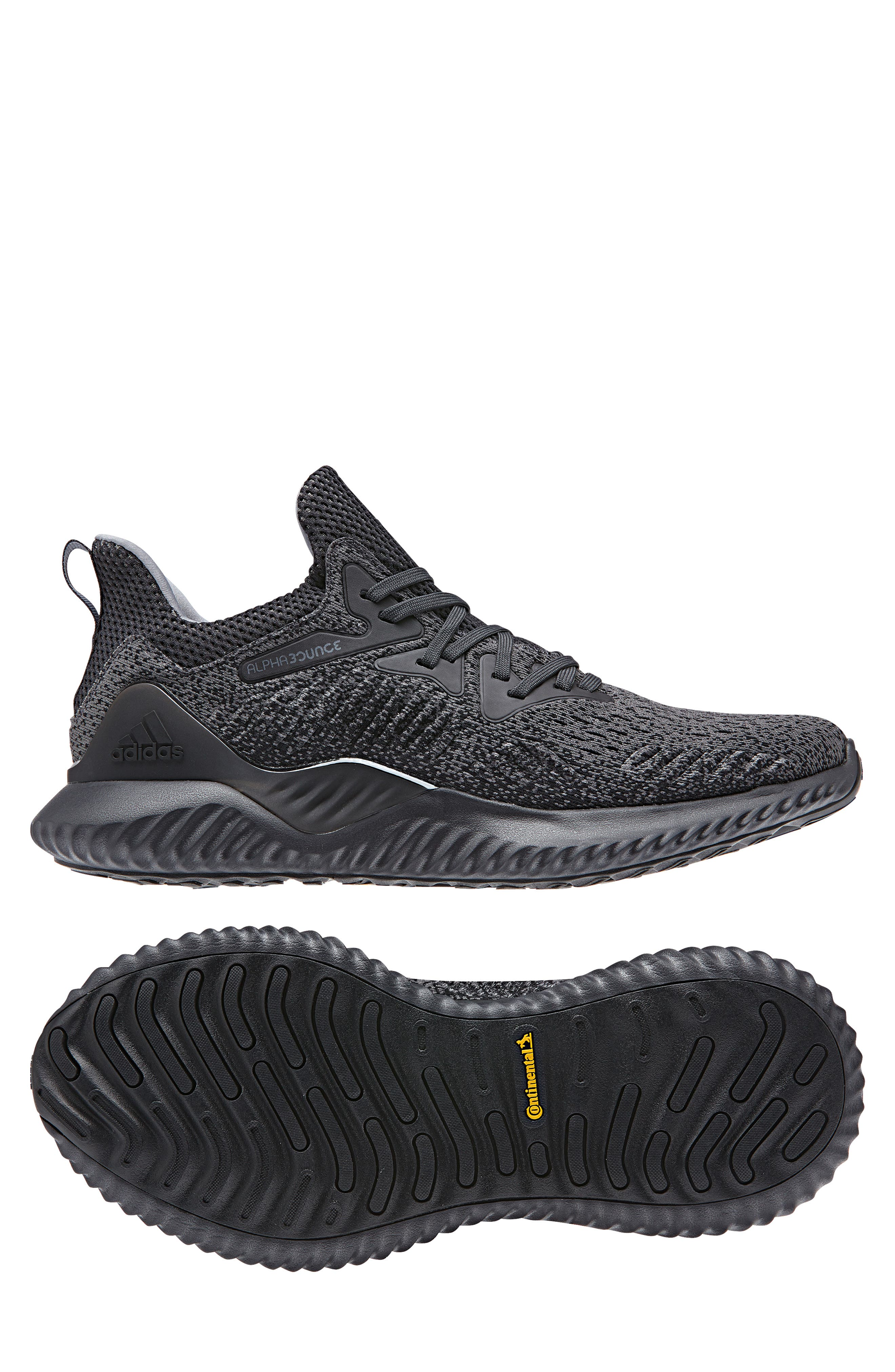 AlphaBounce Beyond Knit Running Shoe,                             Alternate thumbnail 8, color,                             099
