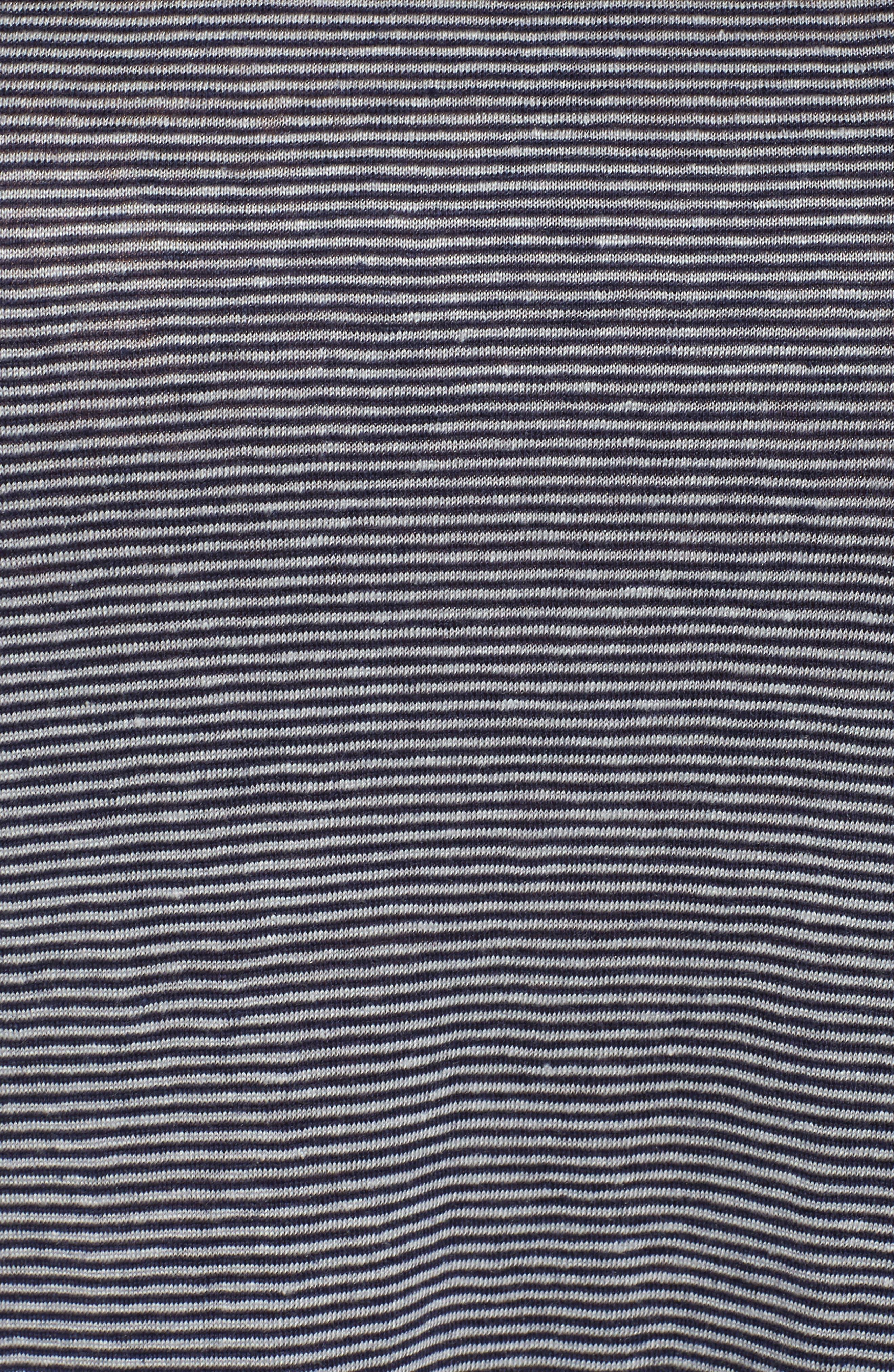 Organic Linen Bateau Neck Top,                             Alternate thumbnail 10, color,