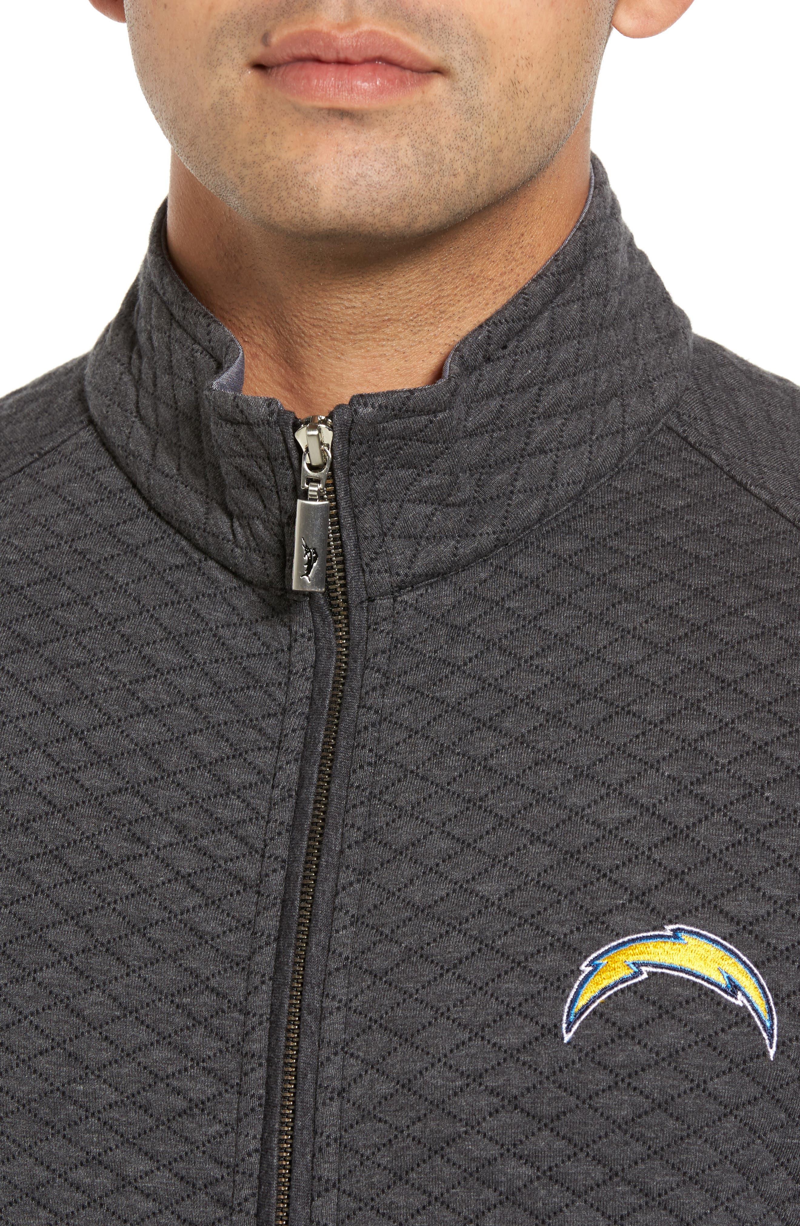 NFL Quiltessential Full Zip Sweatshirt,                             Alternate thumbnail 102, color,