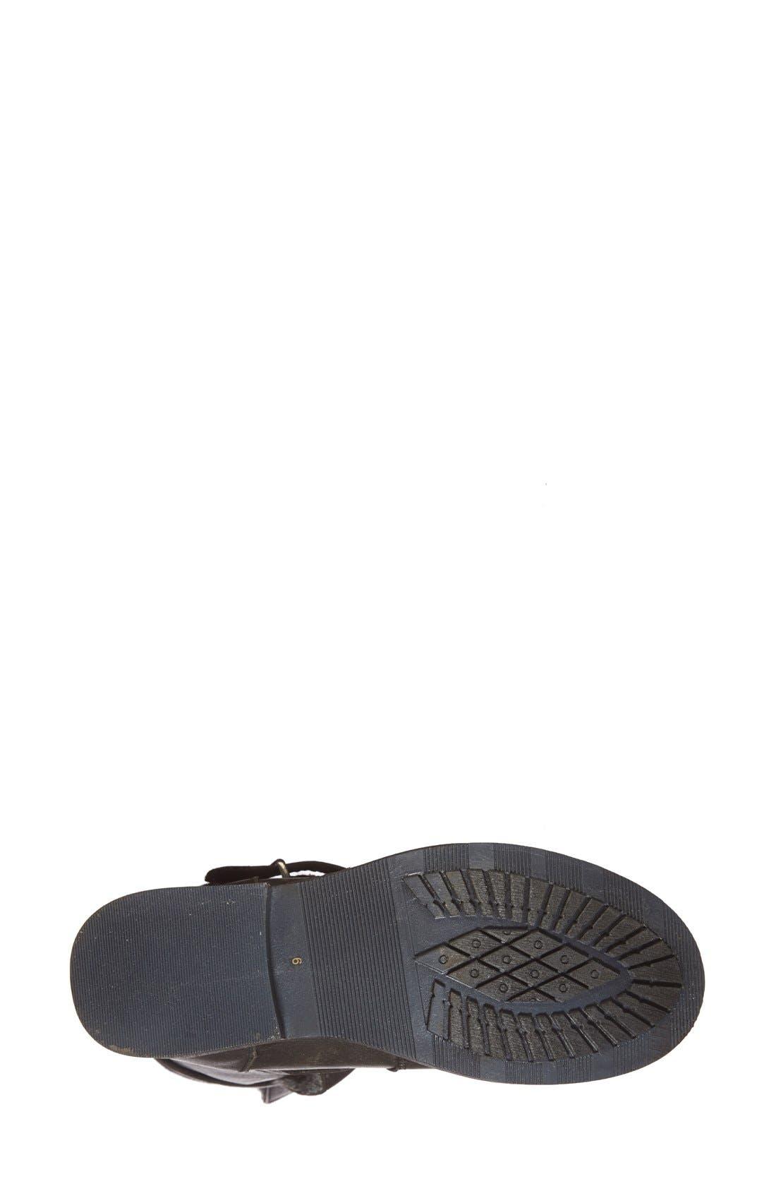 'Caveat' Moto Boot,                             Alternate thumbnail 4, color,                             050