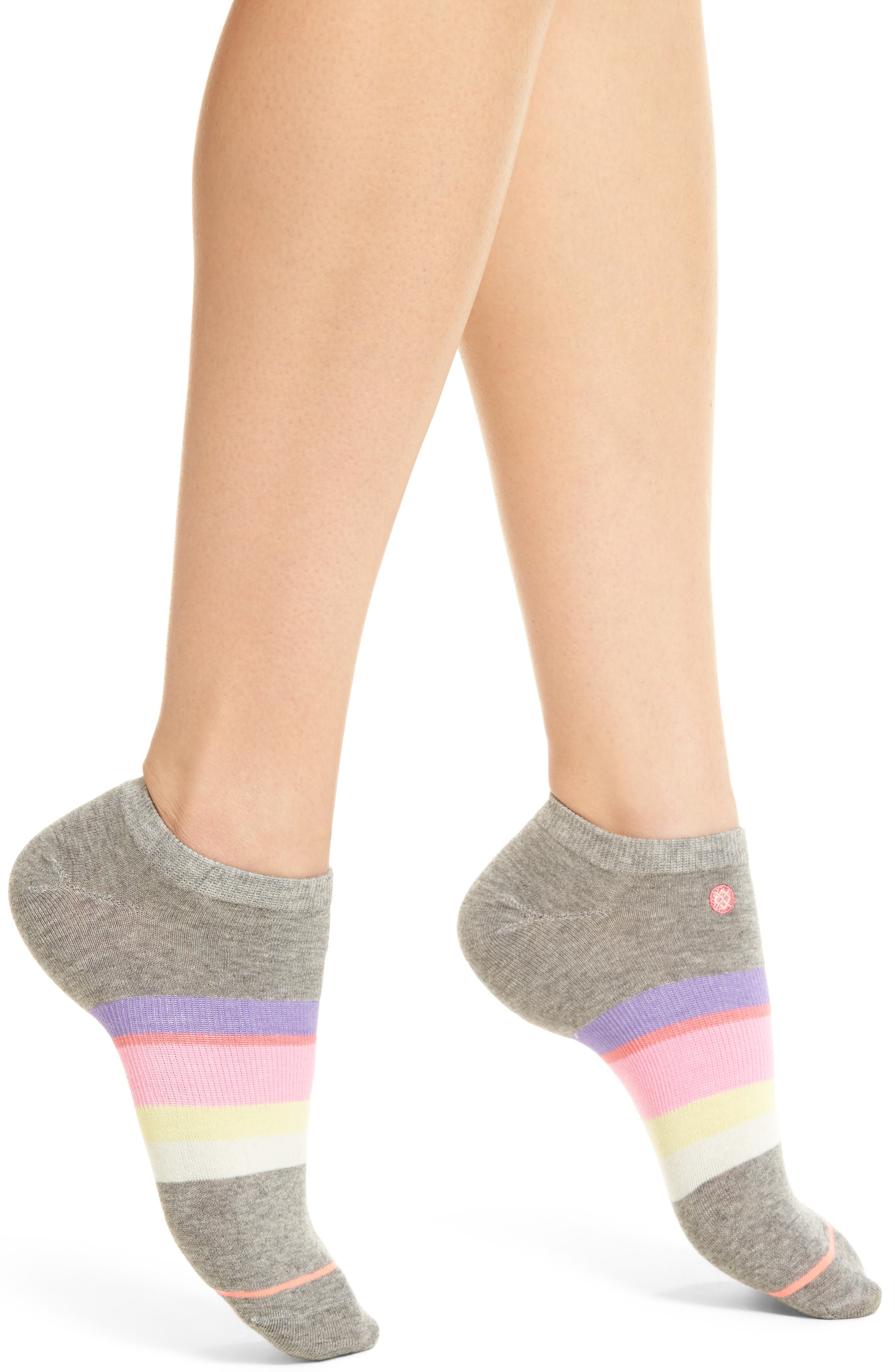 Mega Babe No-Show Socks,                             Main thumbnail 1, color,                             020