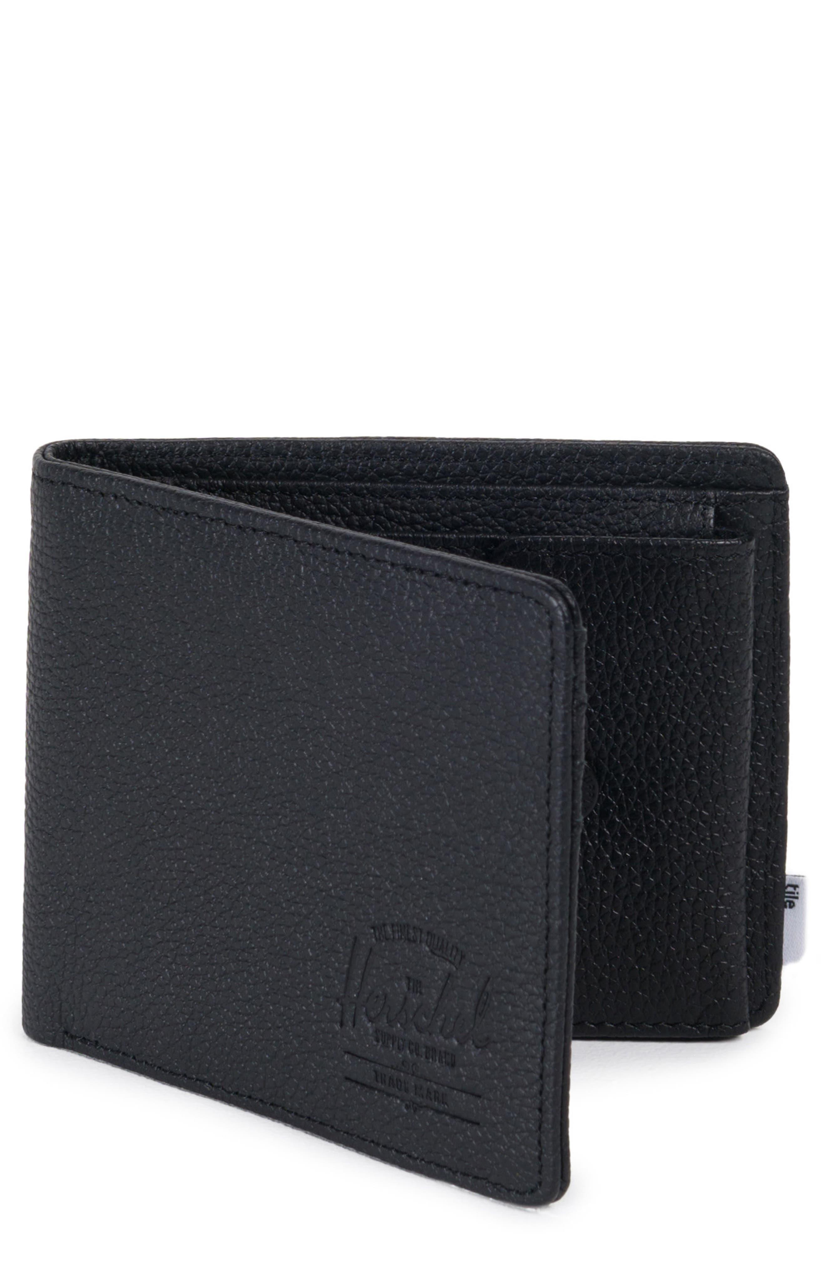 Tile Roy Leather Wallet,                             Main thumbnail 1, color,                             001