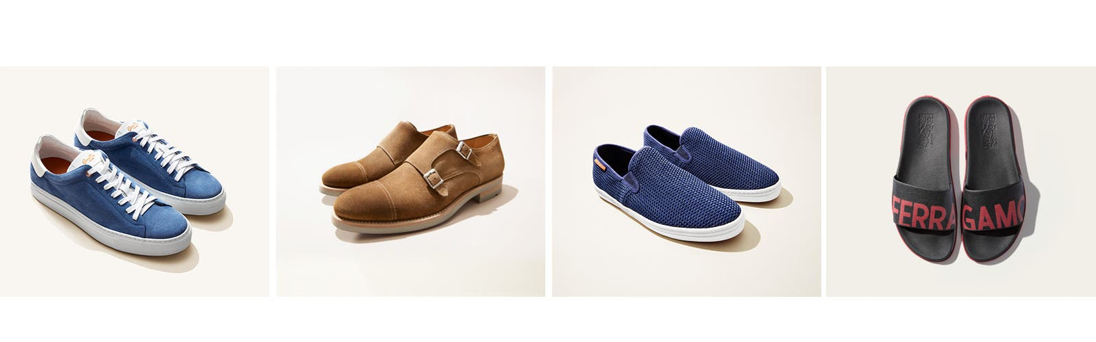 New men's shoes for spring.