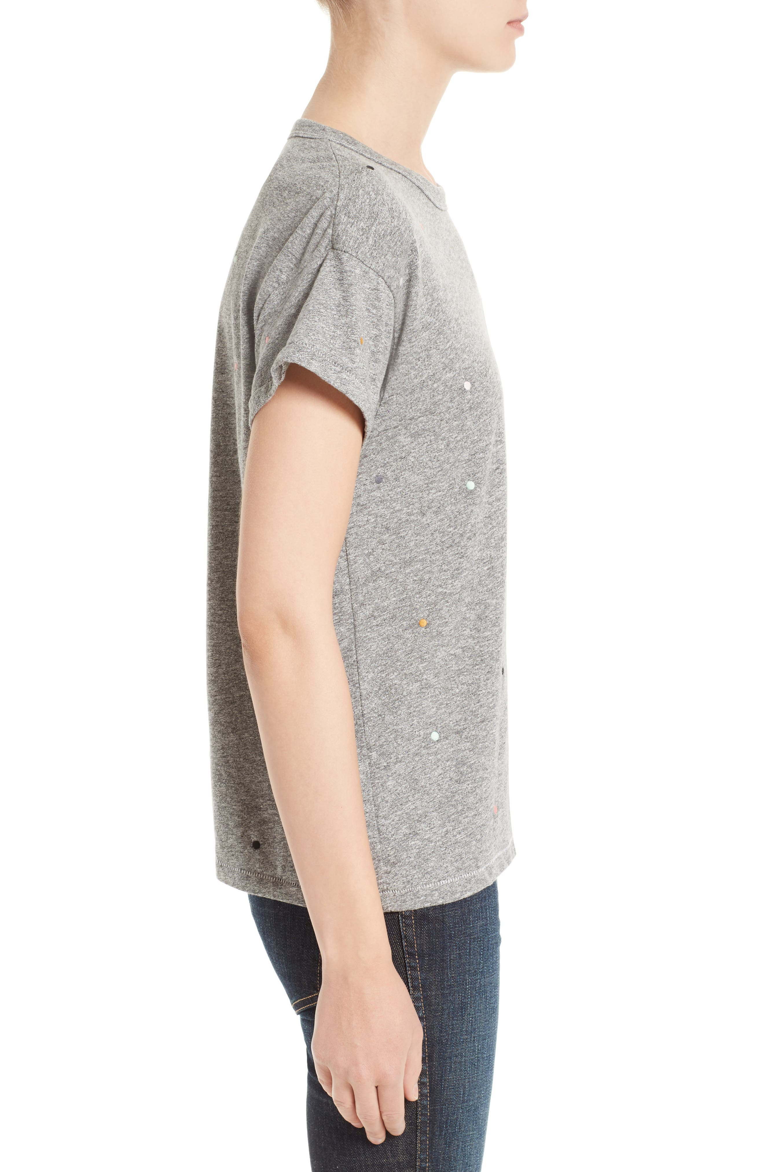 The Boxy Crew Tee,                             Alternate thumbnail 8, color,