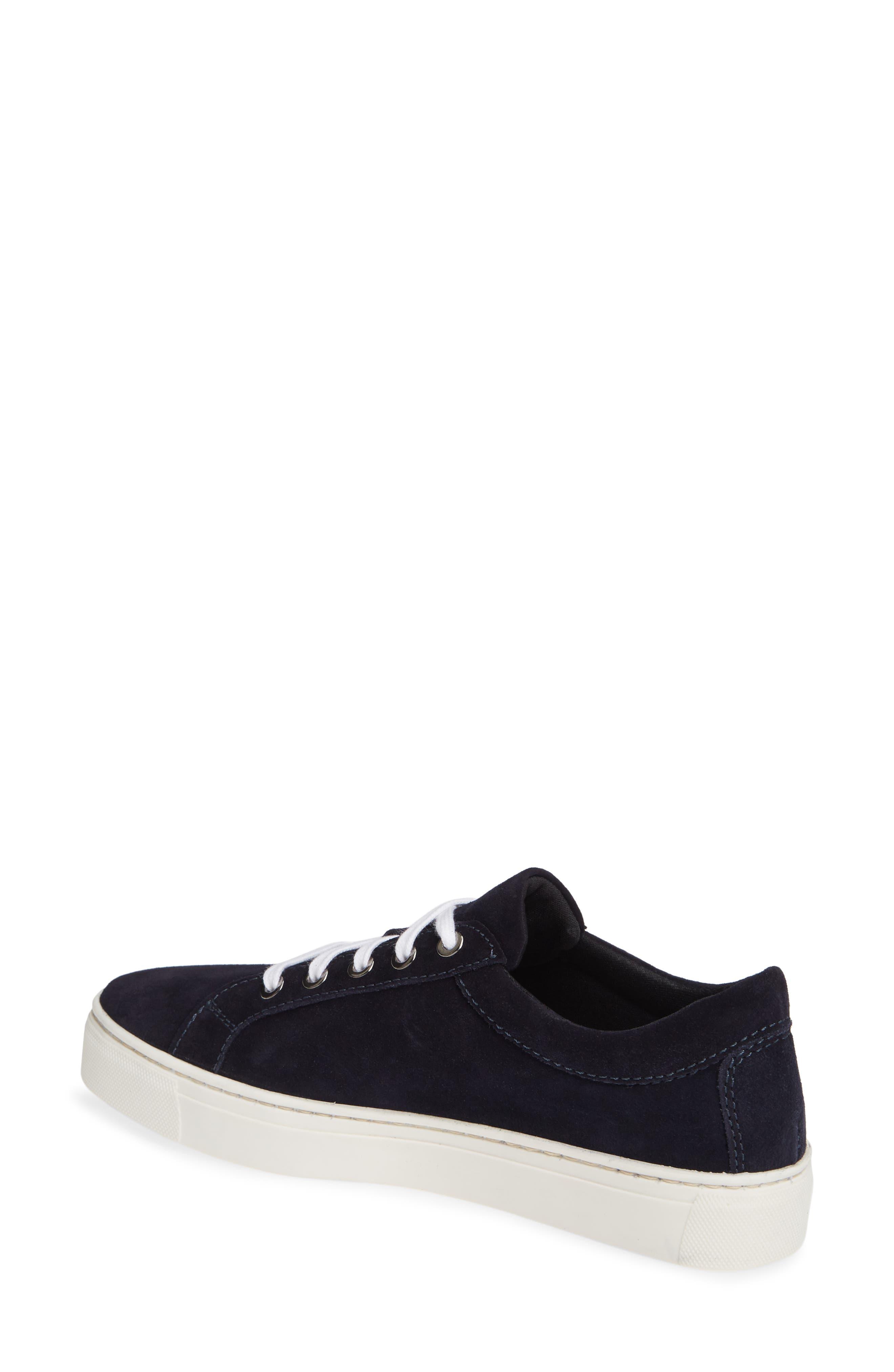 Sneak Away Sneaker,                             Alternate thumbnail 2, color,                             BLUE SUEDE