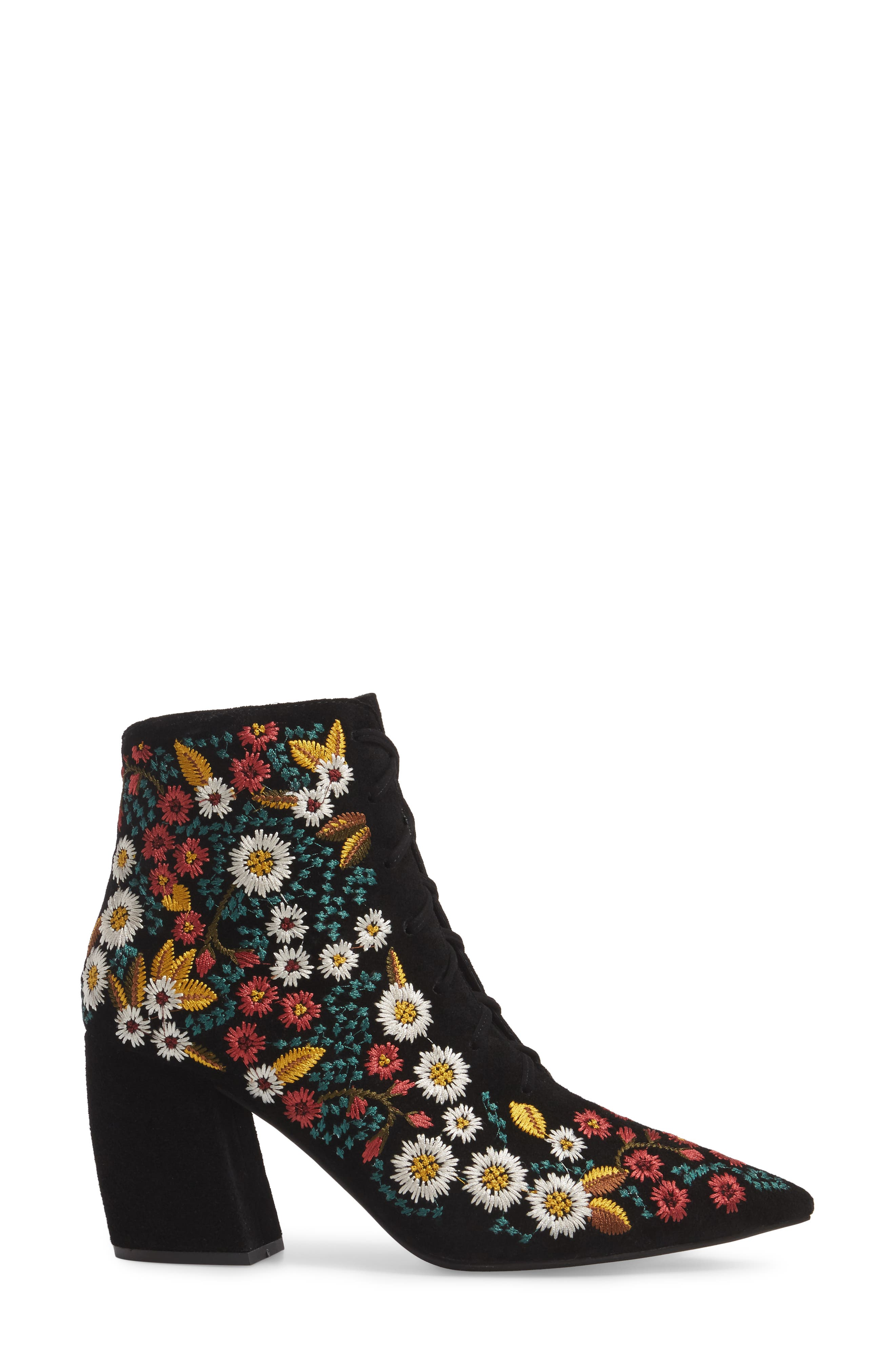 Finito Lace-Up Bootie,                             Alternate thumbnail 3, color,                             009