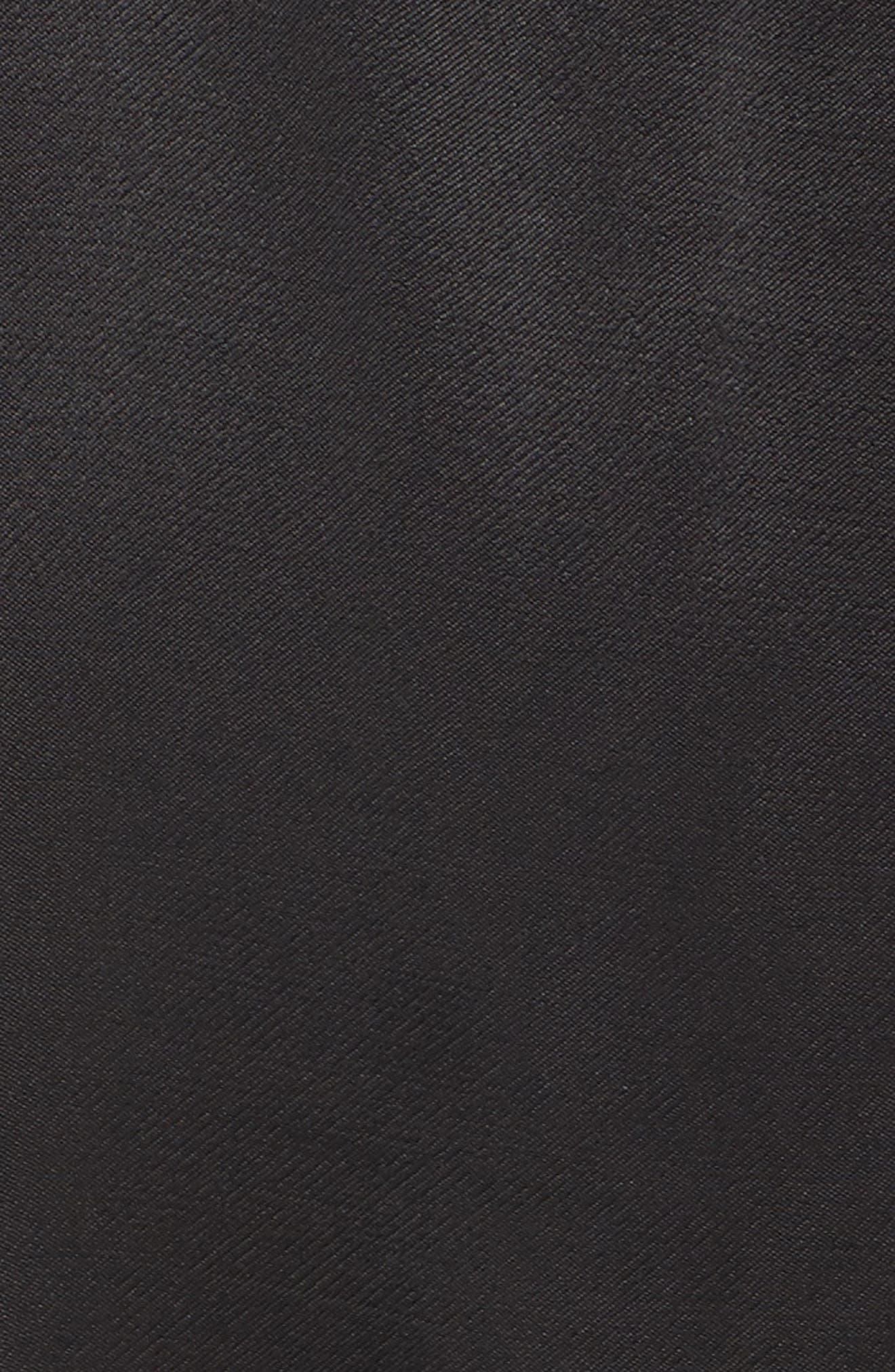 Cassia Ruffle Trim Shirtdress,                             Alternate thumbnail 6, color,                             001