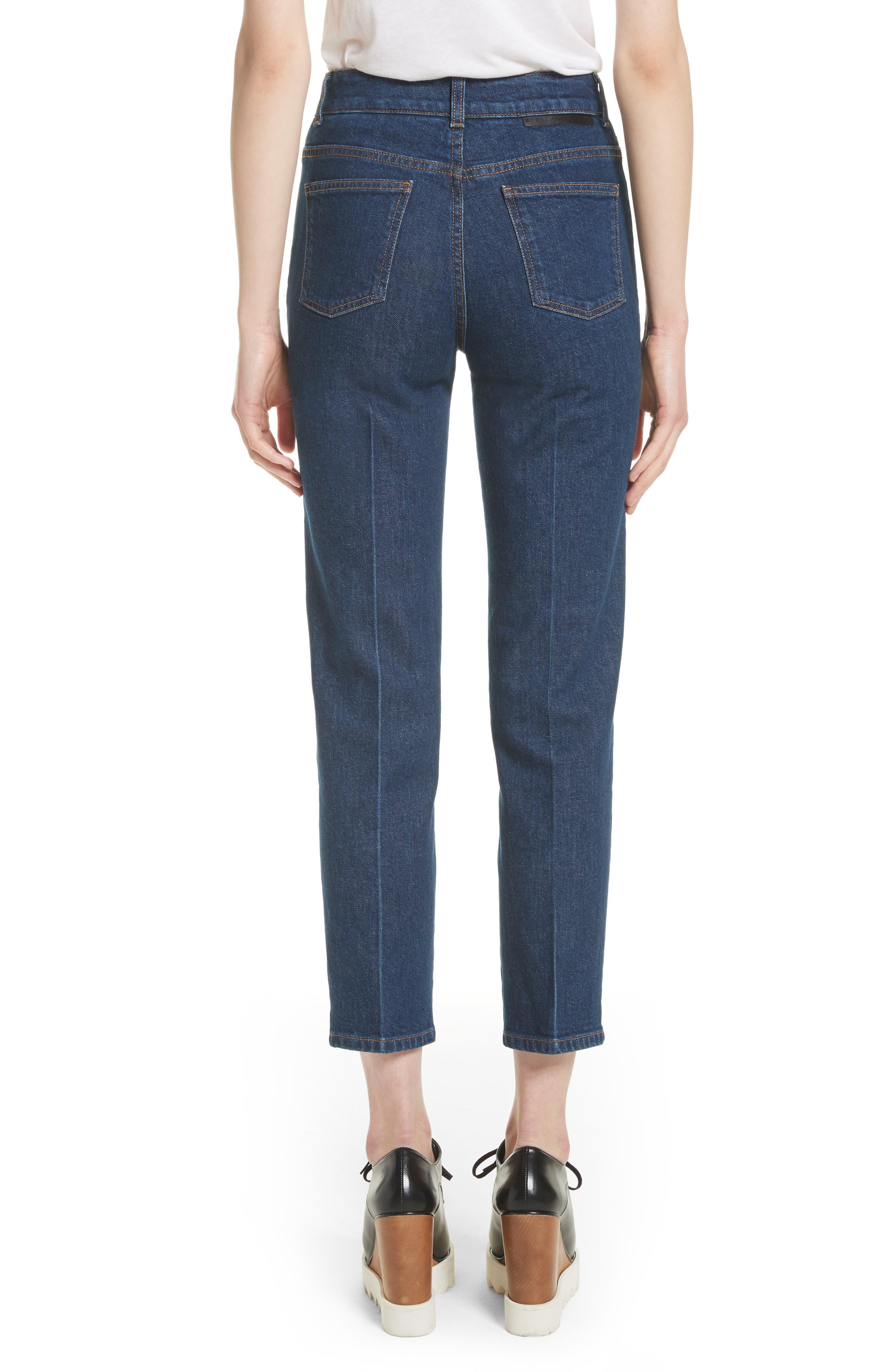 Crop Skinny Jeans,                             Alternate thumbnail 2, color,                             465