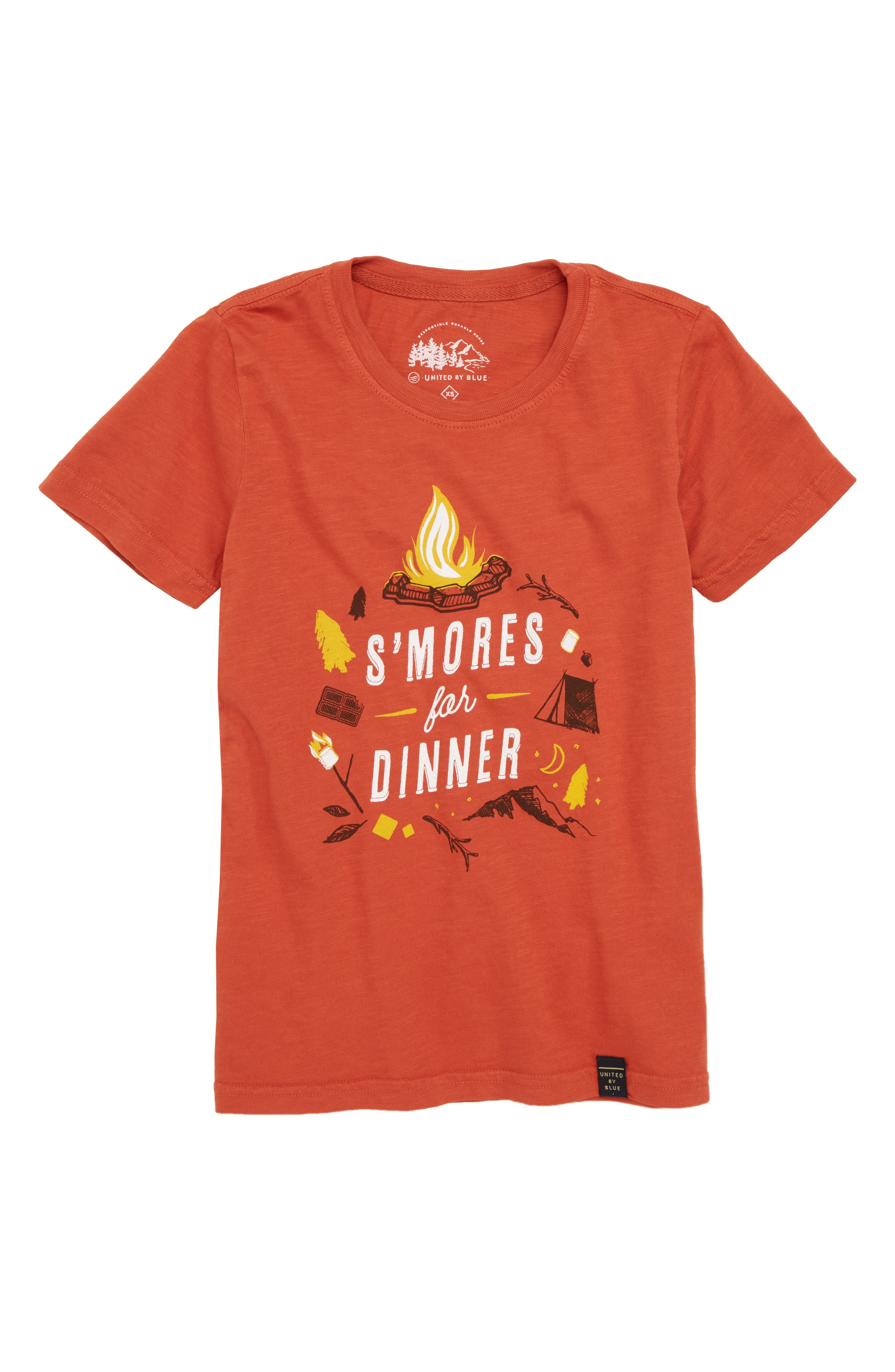 S'mores Graphic T-Shirt,                             Main thumbnail 1, color,                             800