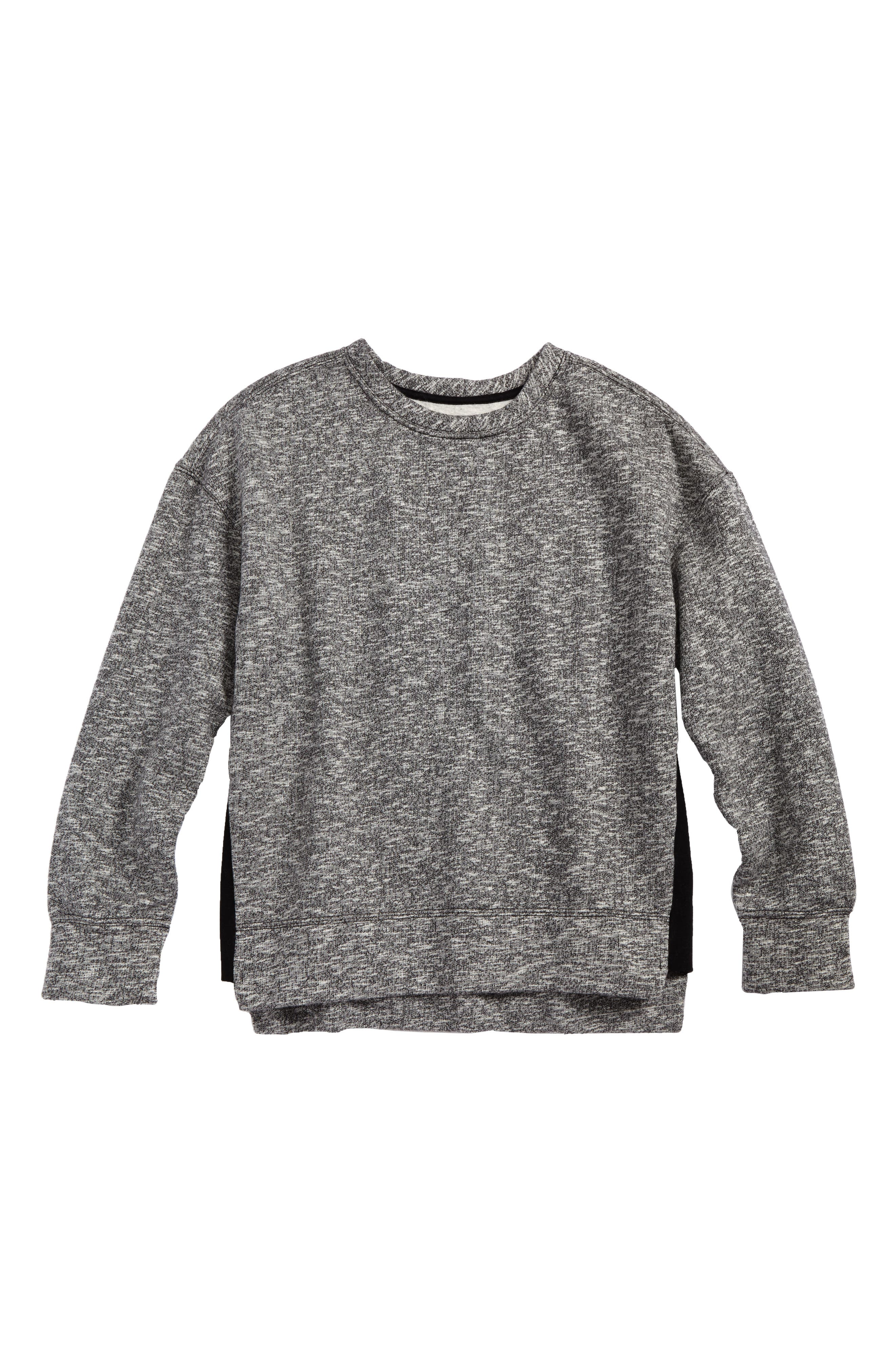 High/Low Sweatshirt,                             Main thumbnail 1, color,                             020