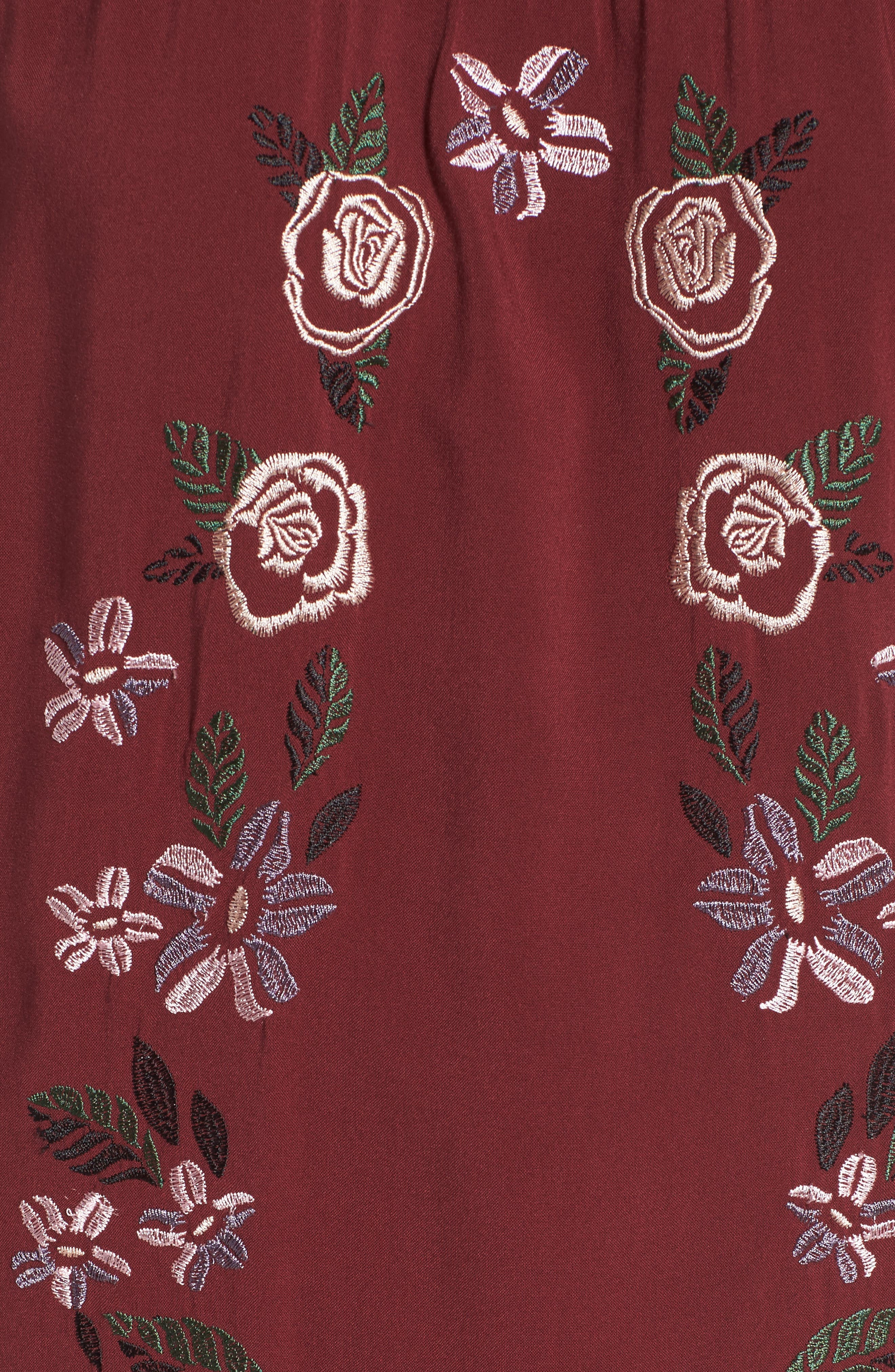 Embroidered Dress,                             Alternate thumbnail 10, color,
