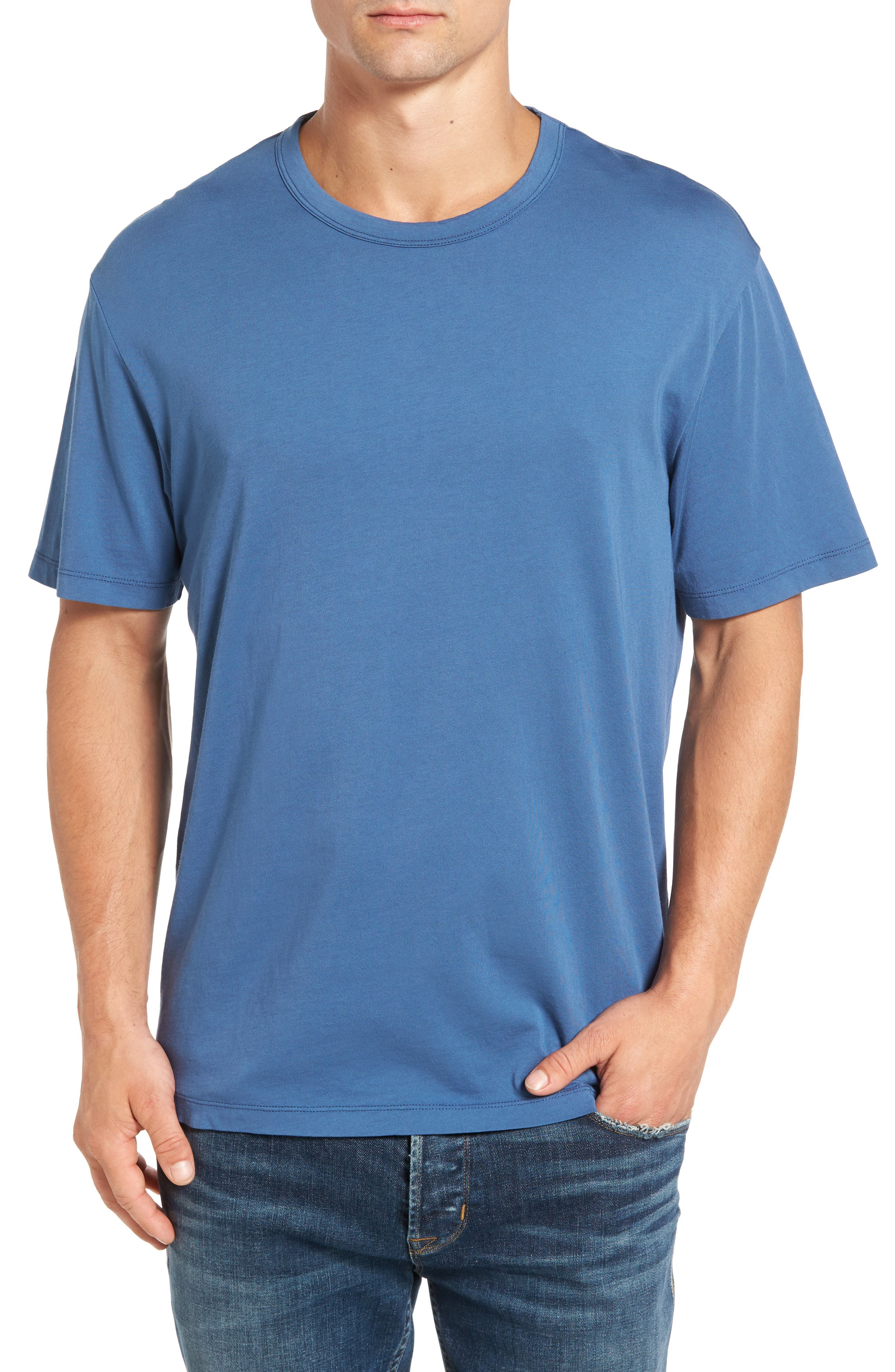 Spinnaker Bay Sports Fit Crewneck T-Shirt,                             Main thumbnail 3, color,