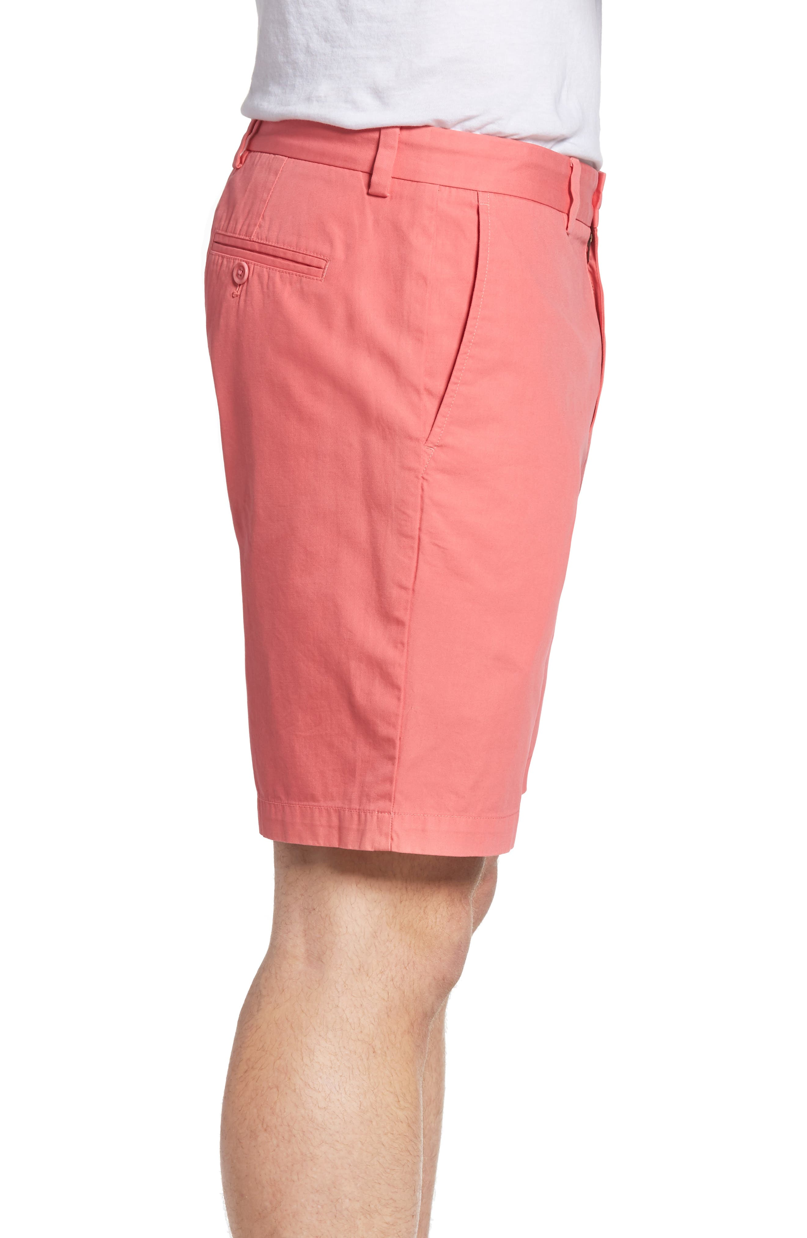 9 Inch Stretch Breaker Shorts,                             Alternate thumbnail 3, color,                             LOBSTER REEF