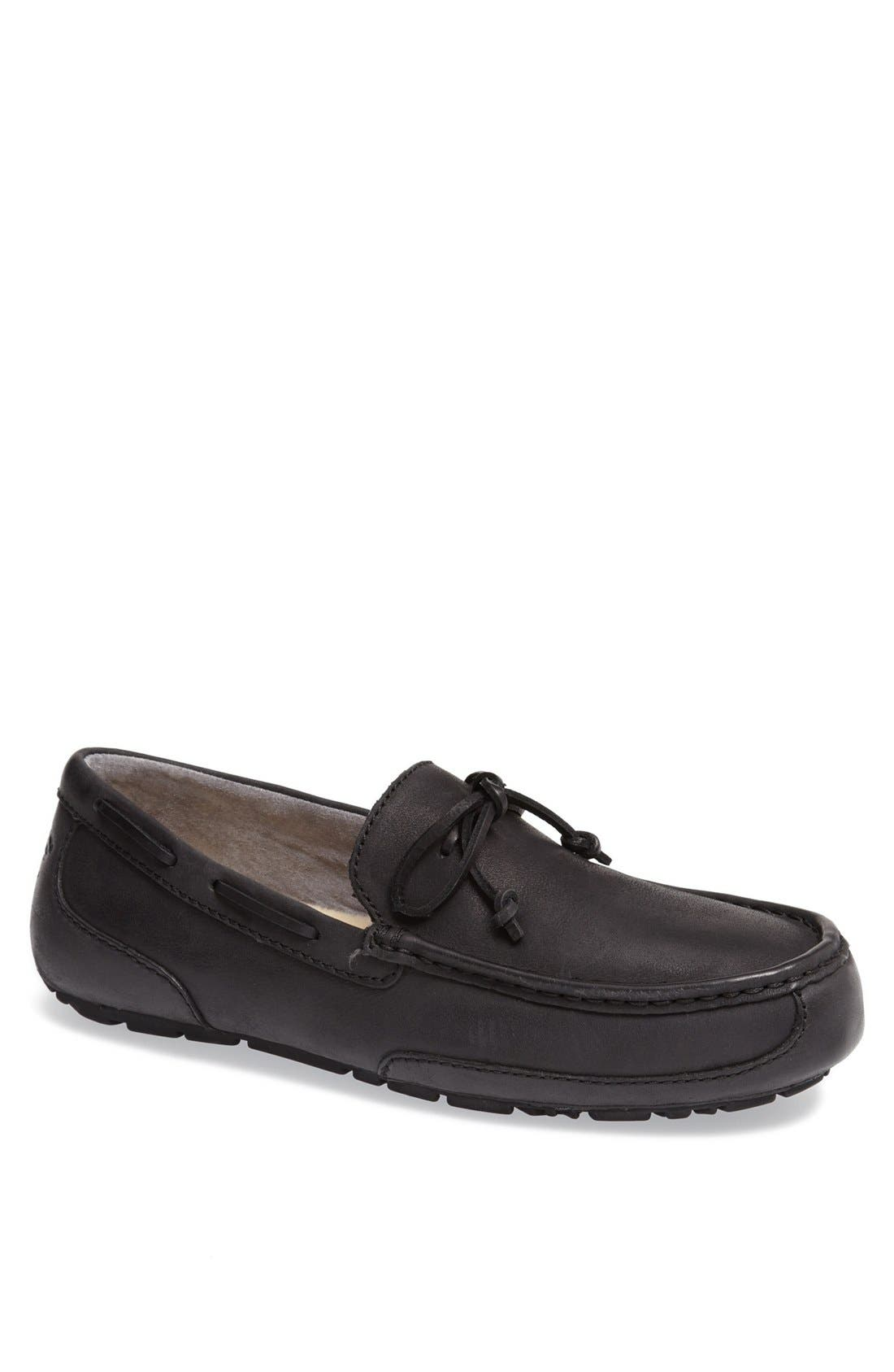 'Chester' Driving Loafer,                         Main,                         color, 001