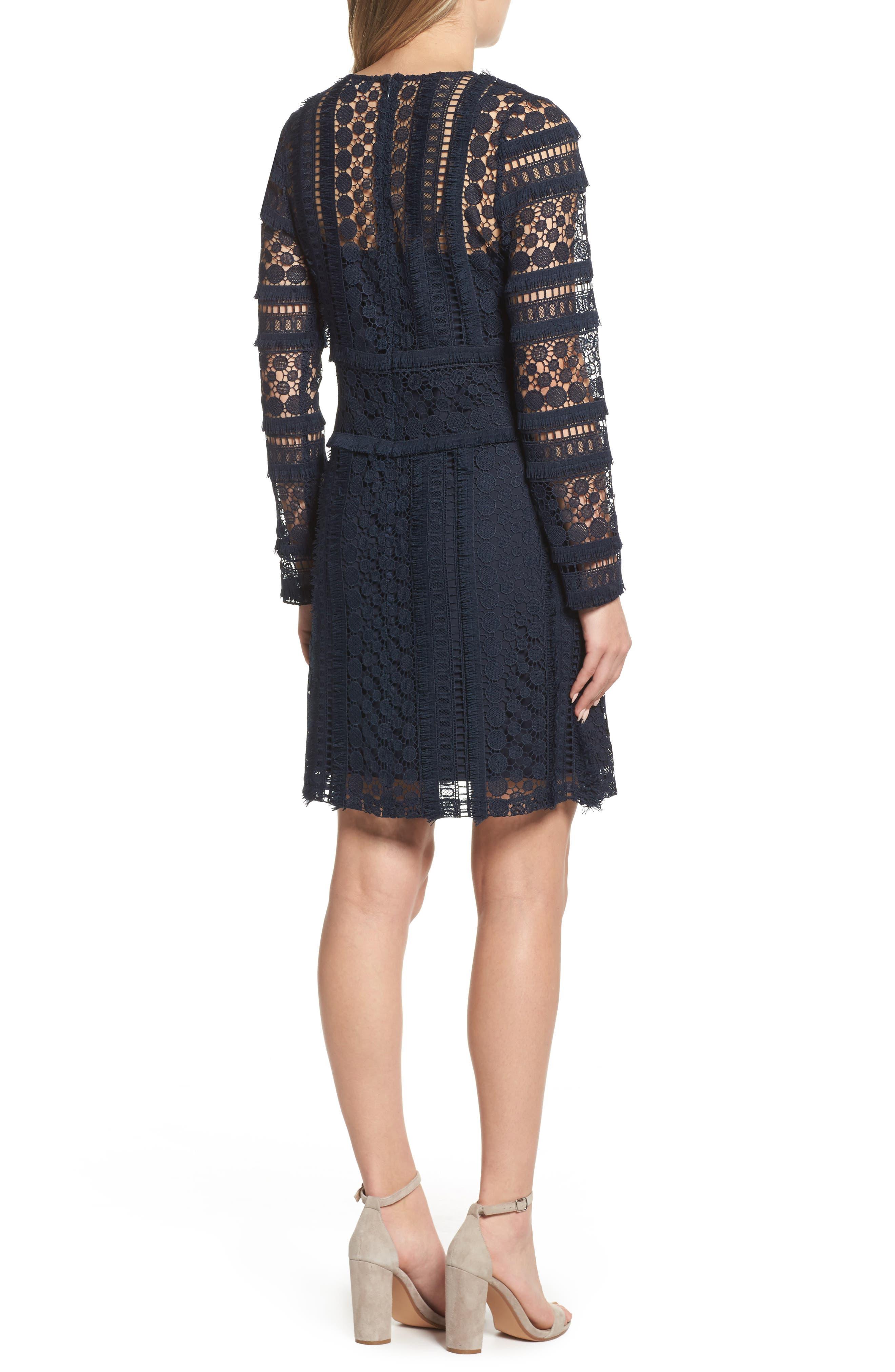 Lace Sheath Dress,                             Alternate thumbnail 2, color,                             419