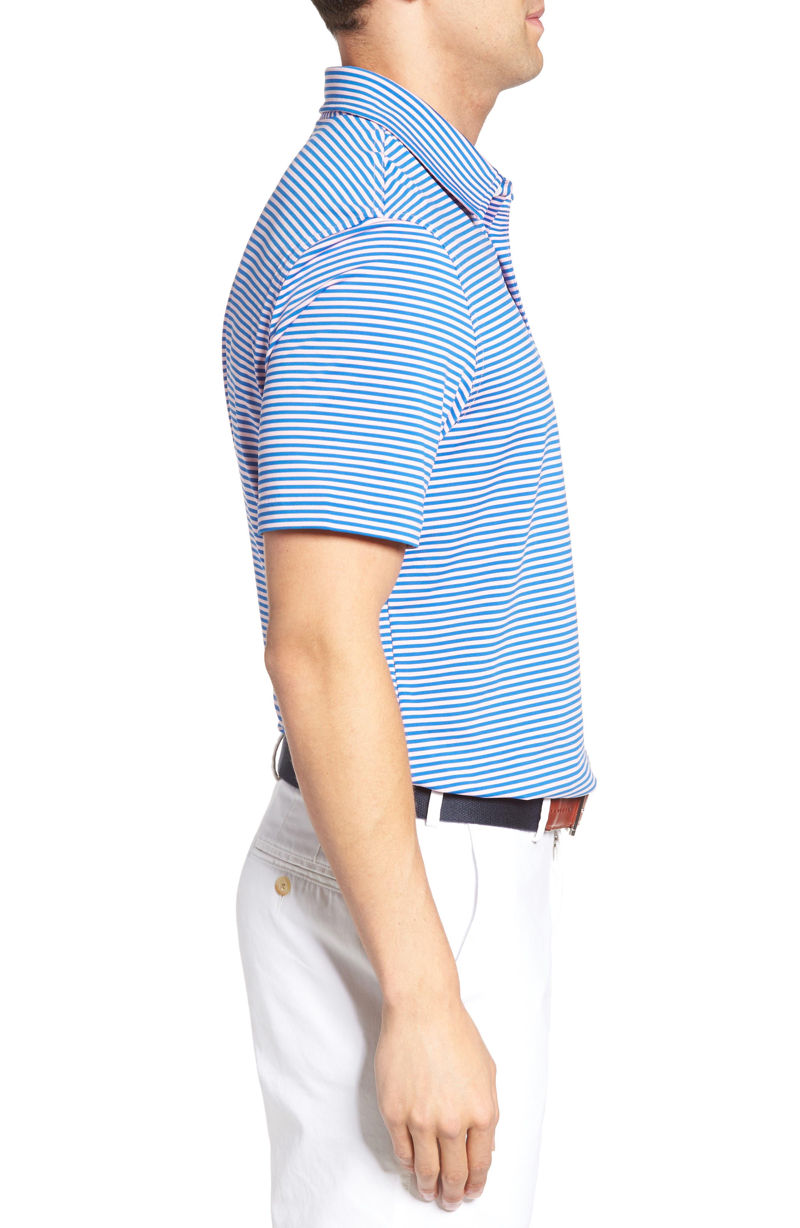 Kennedy Stripe Golf Polo,                             Alternate thumbnail 54, color,