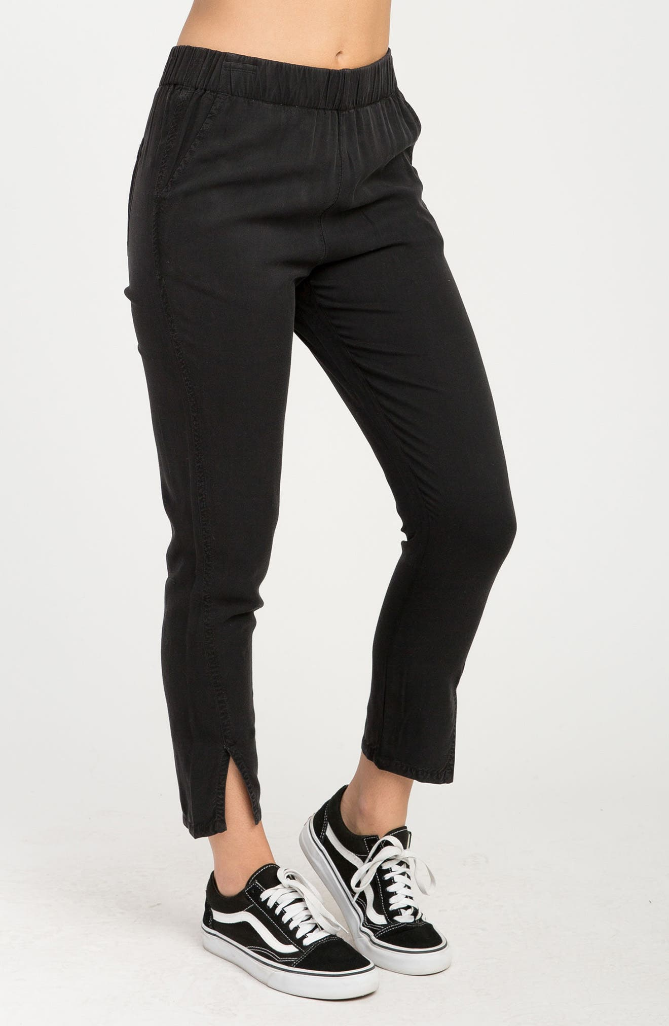 Chill Vibes Ankle Pants,                             Alternate thumbnail 6, color,                             001