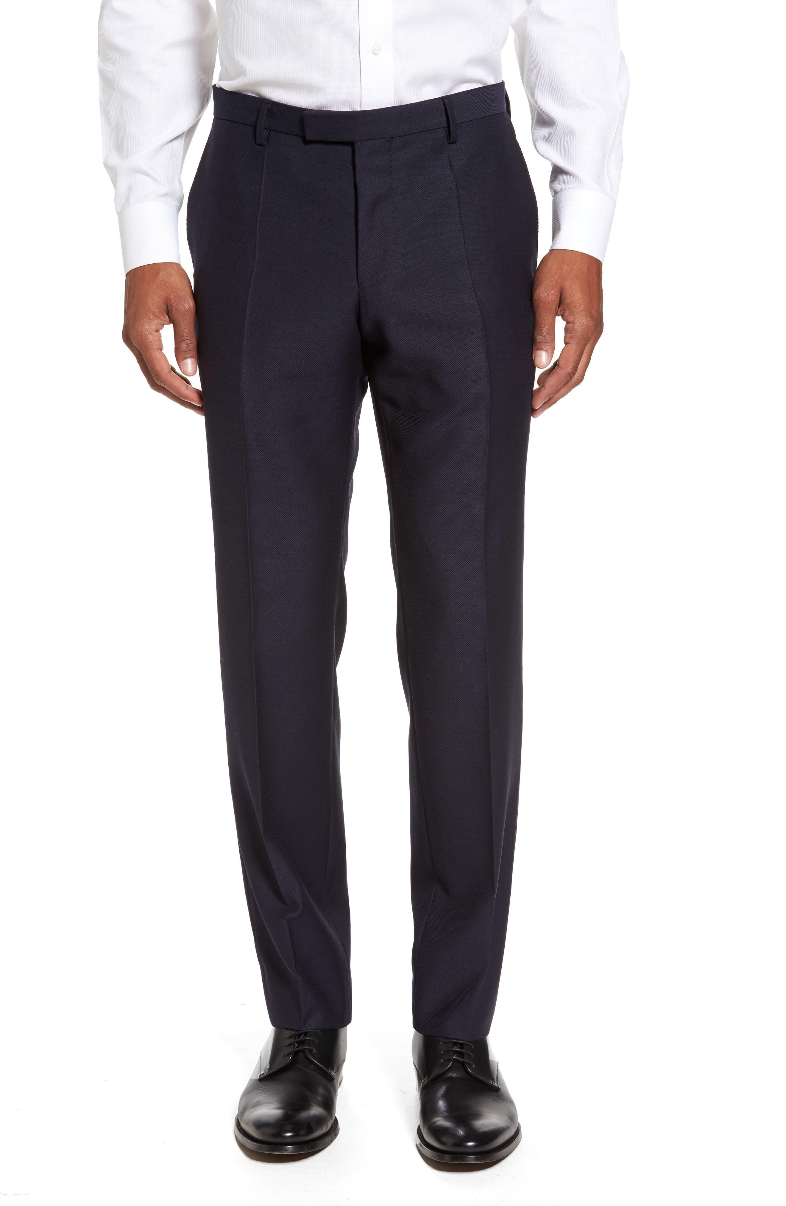 Novan/Ben Classic Fit Solid Wool Suit,                             Alternate thumbnail 6, color,                             410