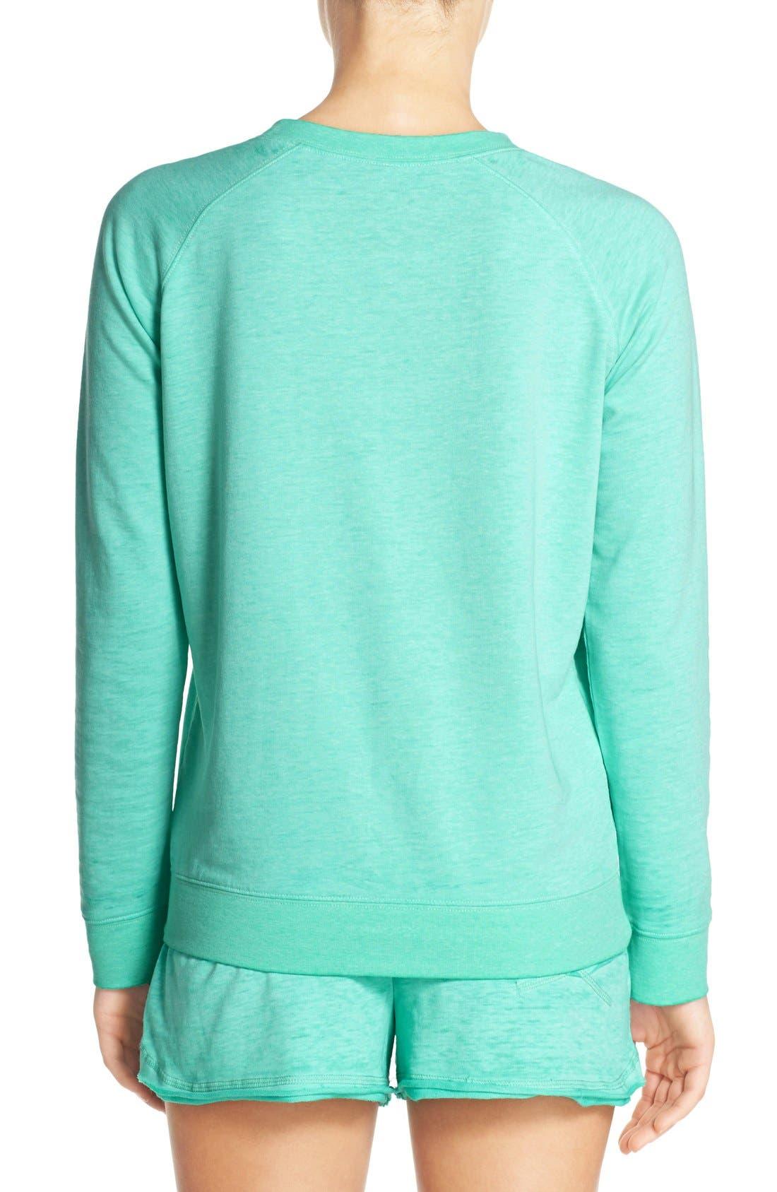 Burnout Lounge Sweatshirt,                             Alternate thumbnail 329, color,