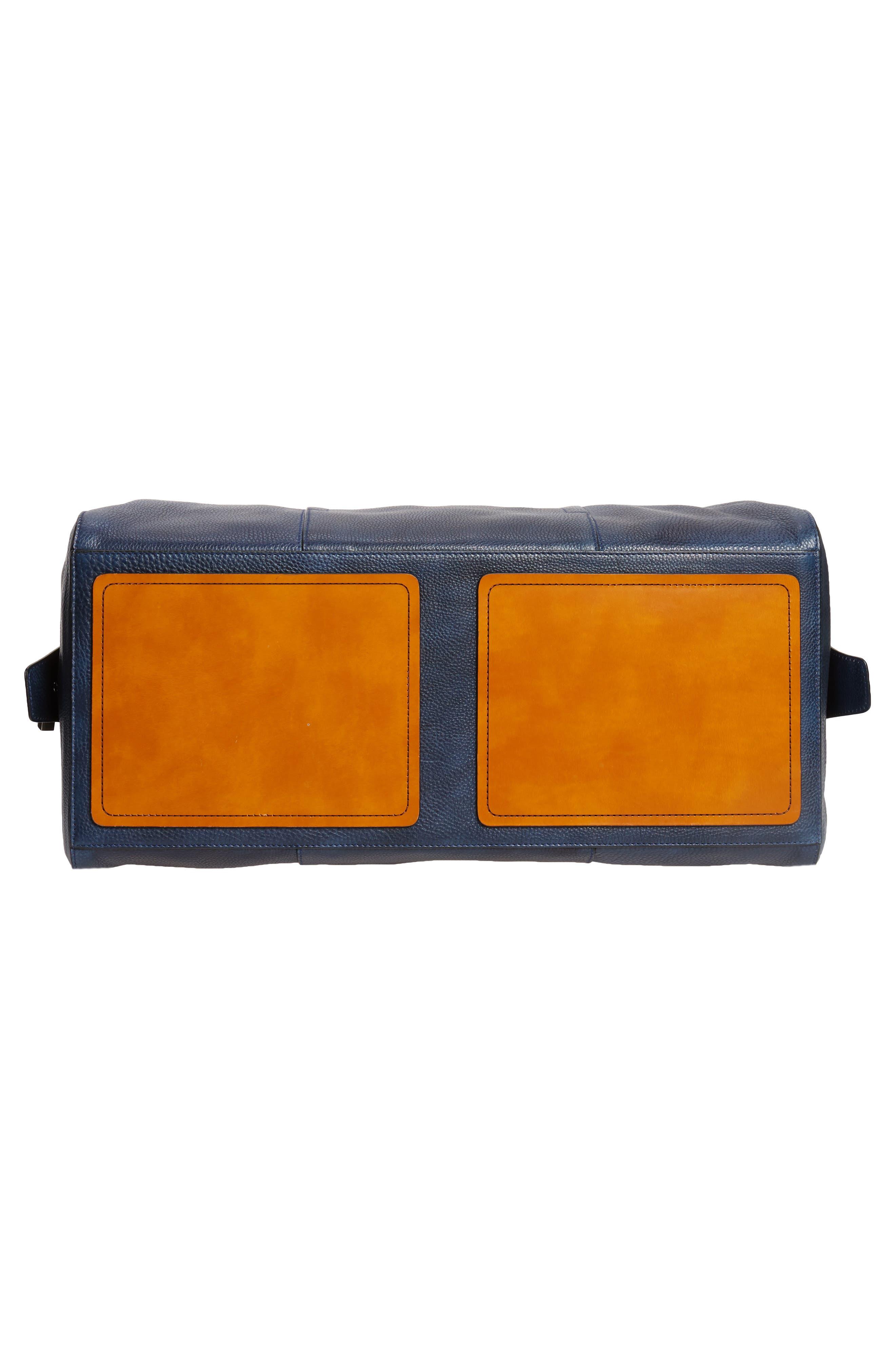 Traveler Leather Duffel Bag,                             Alternate thumbnail 20, color,