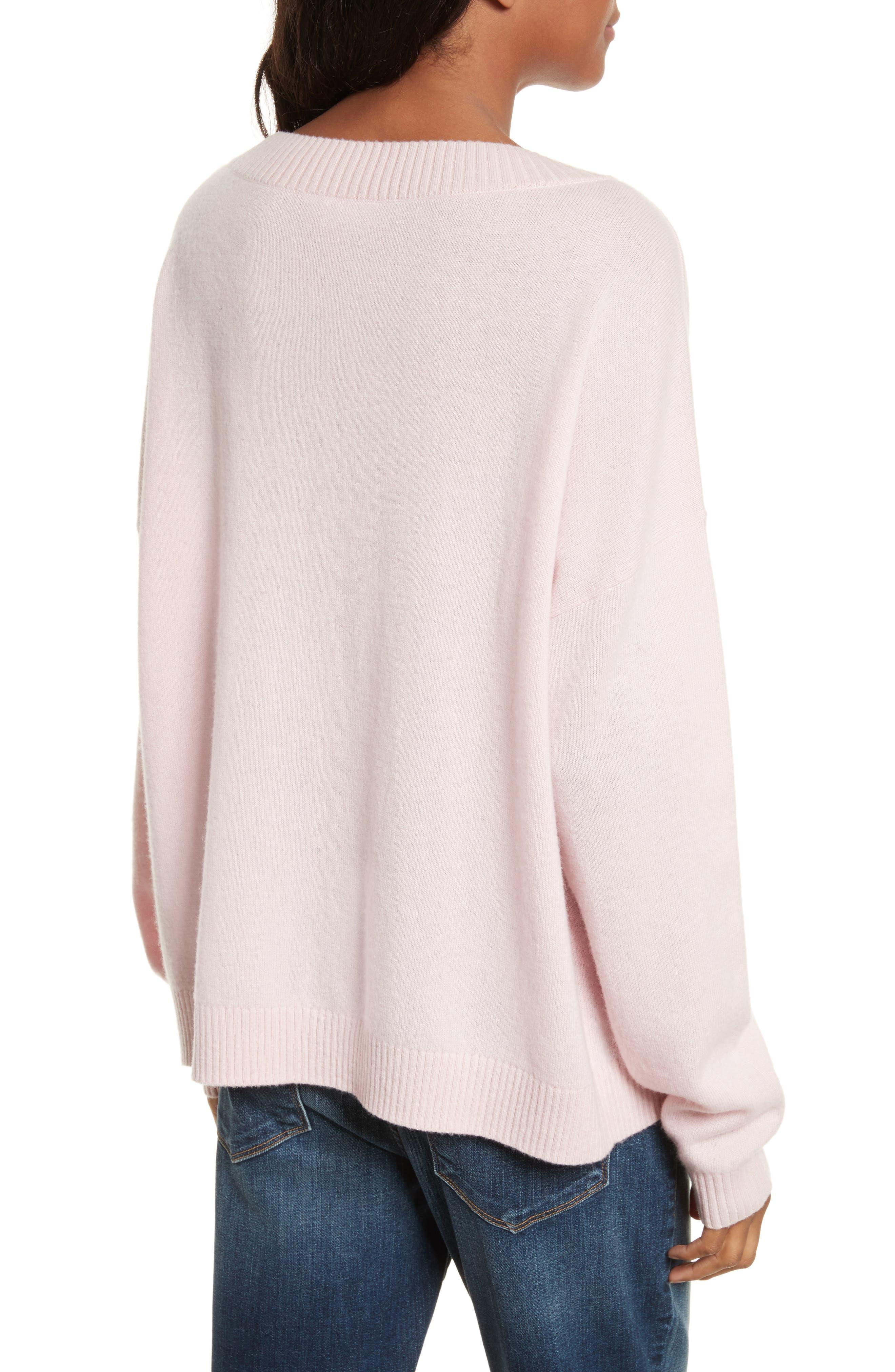 Boyfriend Sweater,                             Alternate thumbnail 2, color,                             650