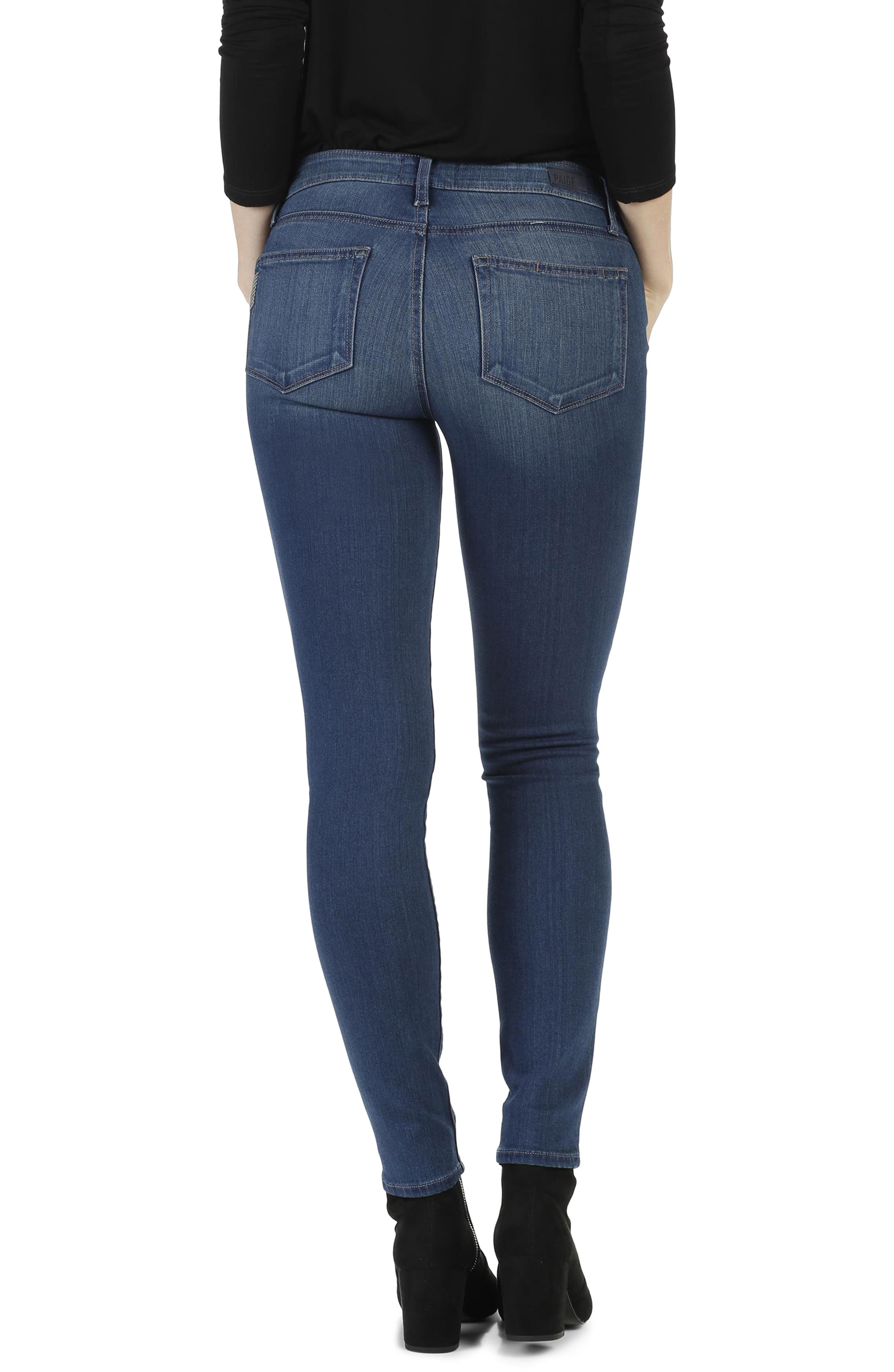 Transcend - Verdugo Ultra Skinny Jeans,                             Alternate thumbnail 3, color,                             400
