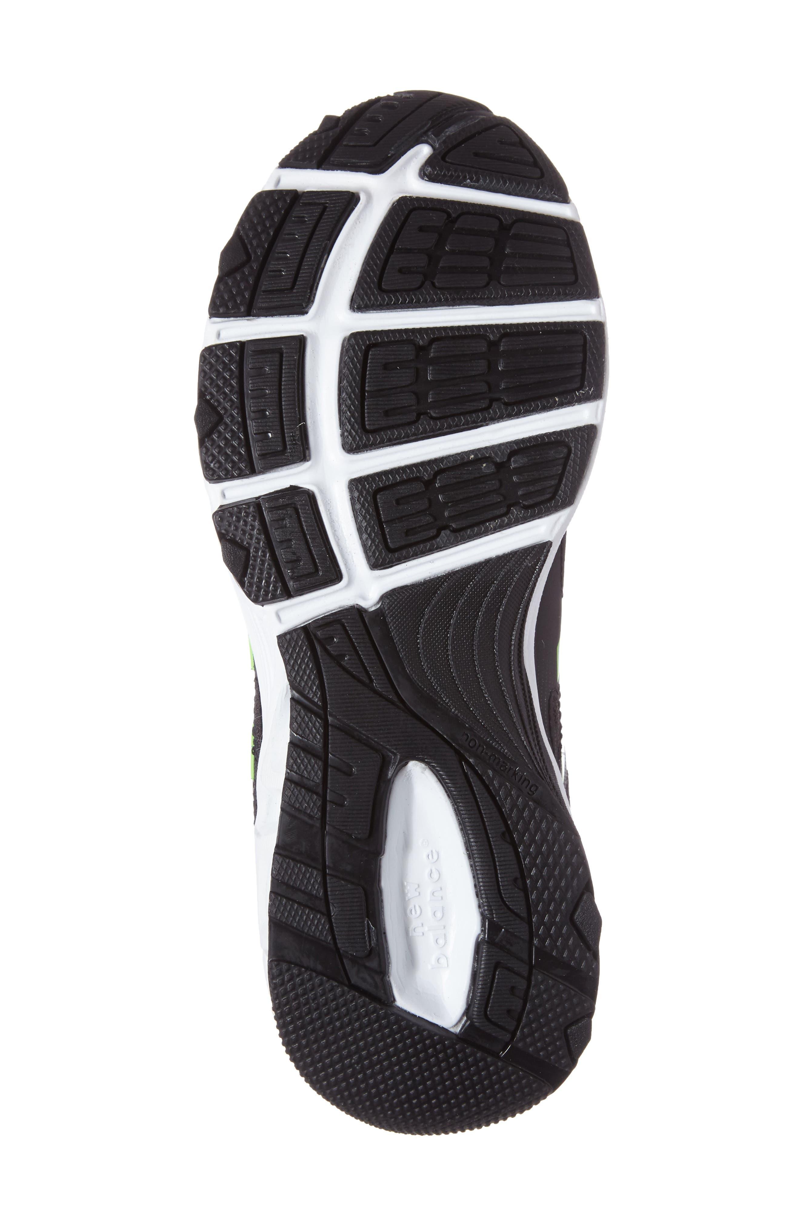 680v3 Sneaker,                             Alternate thumbnail 4, color,                             BLACK/BLUE
