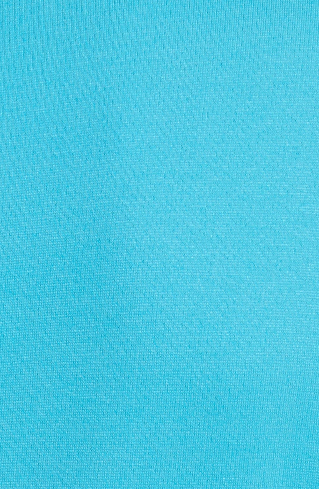 Faux Wrap Side Pleat Dress,                             Alternate thumbnail 5, color,                             444