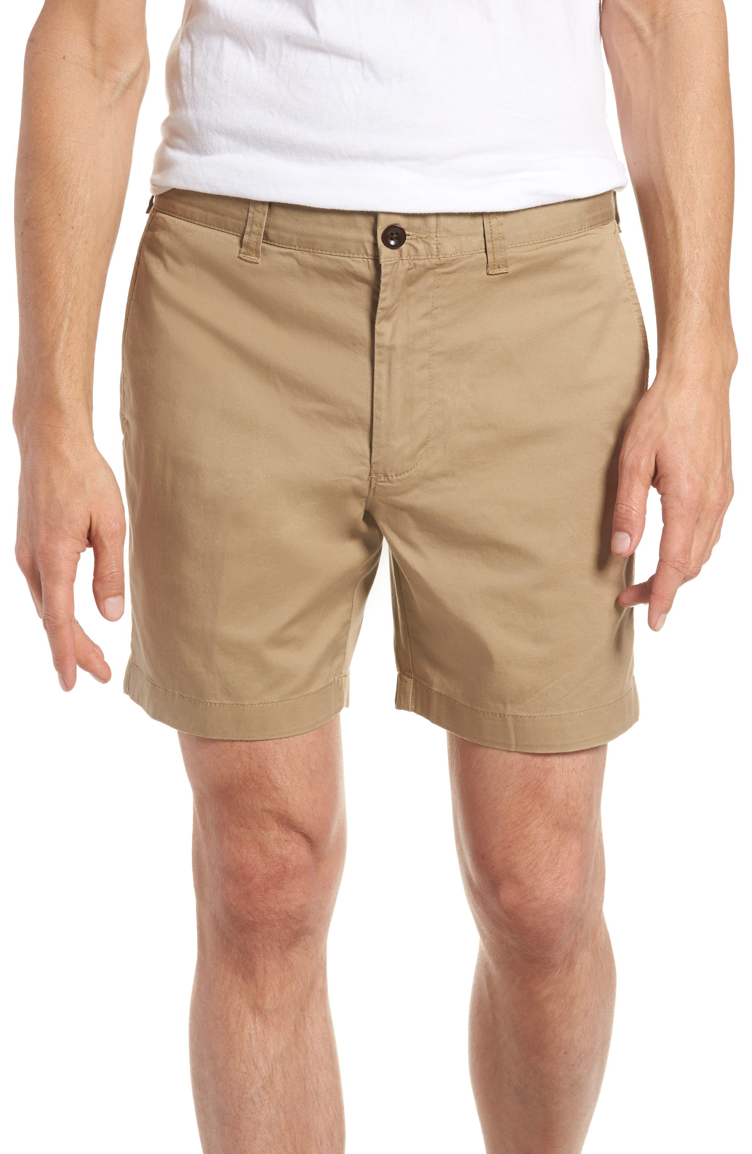 Stretch Cotton Shorts,                             Main thumbnail 3, color,